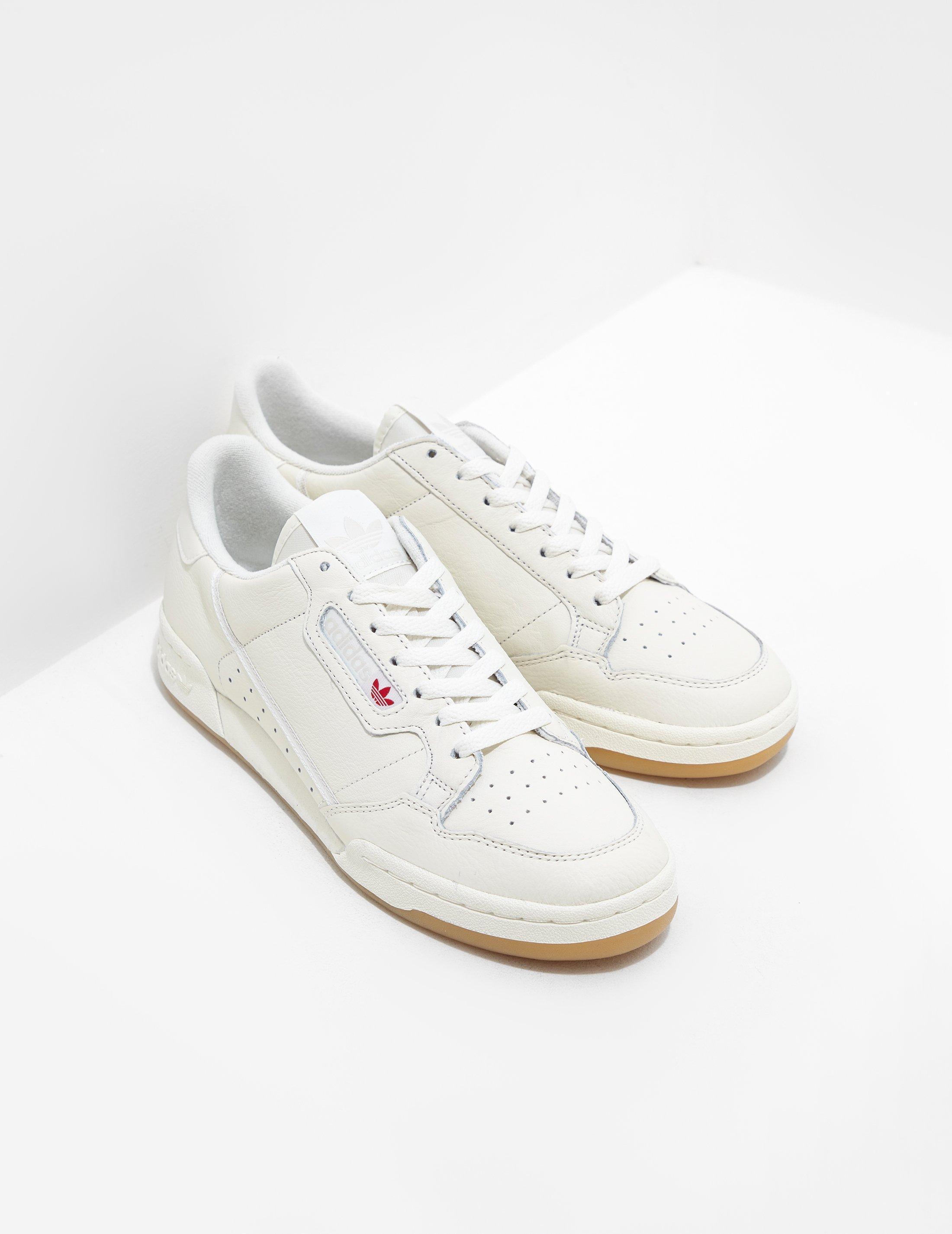 Lyst - adidas Originals Continental 80 Cream for Men 3d3e52b2d