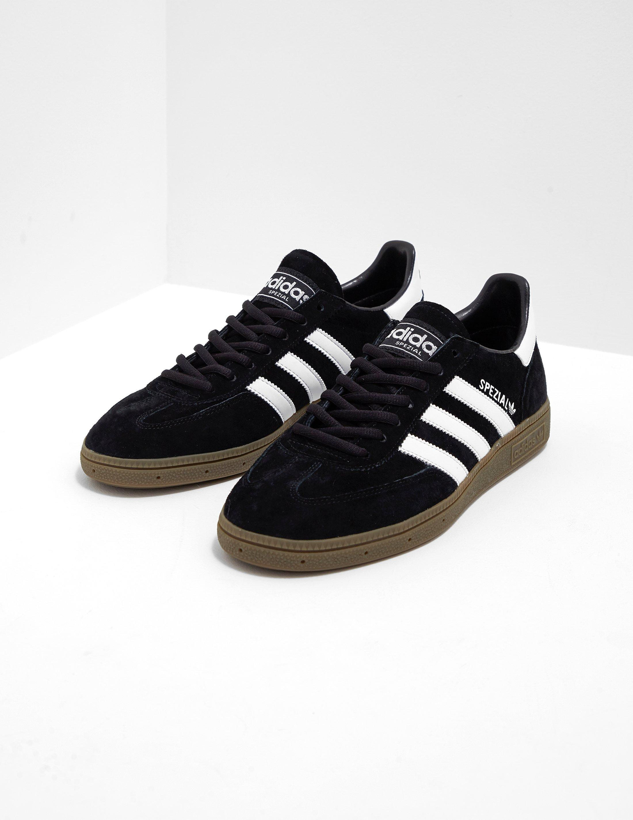 71ae01c4b375 Adidas Originals Mens Spezial Black white gum in Black for Men - Lyst