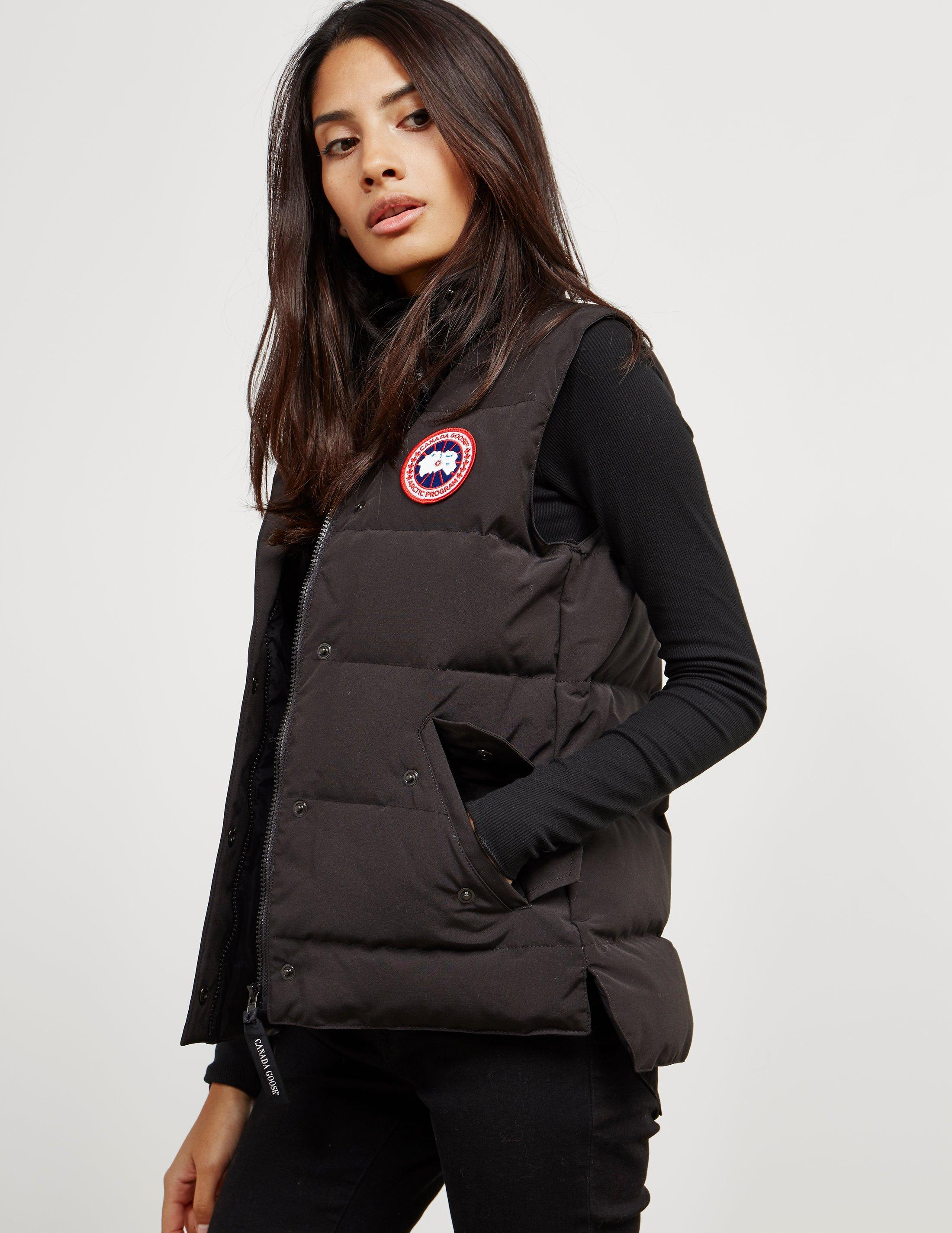 fa562ad76b67 Lyst - Canada Goose Freestyle Padded Gilet Black in Black