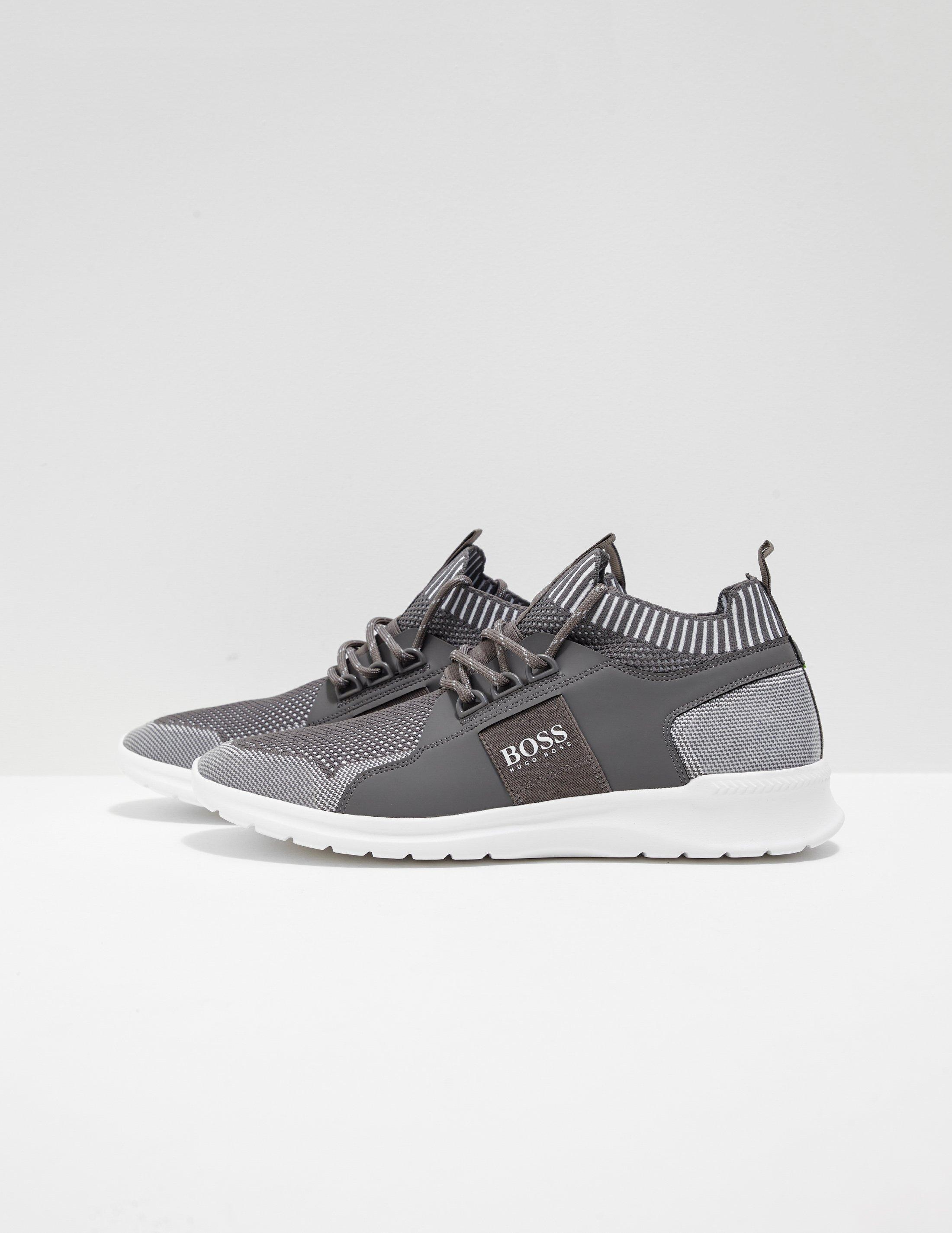 4353aebbcfc6a8 Boss Mens Extreme Run Knit Grey in Gray for Men - Lyst
