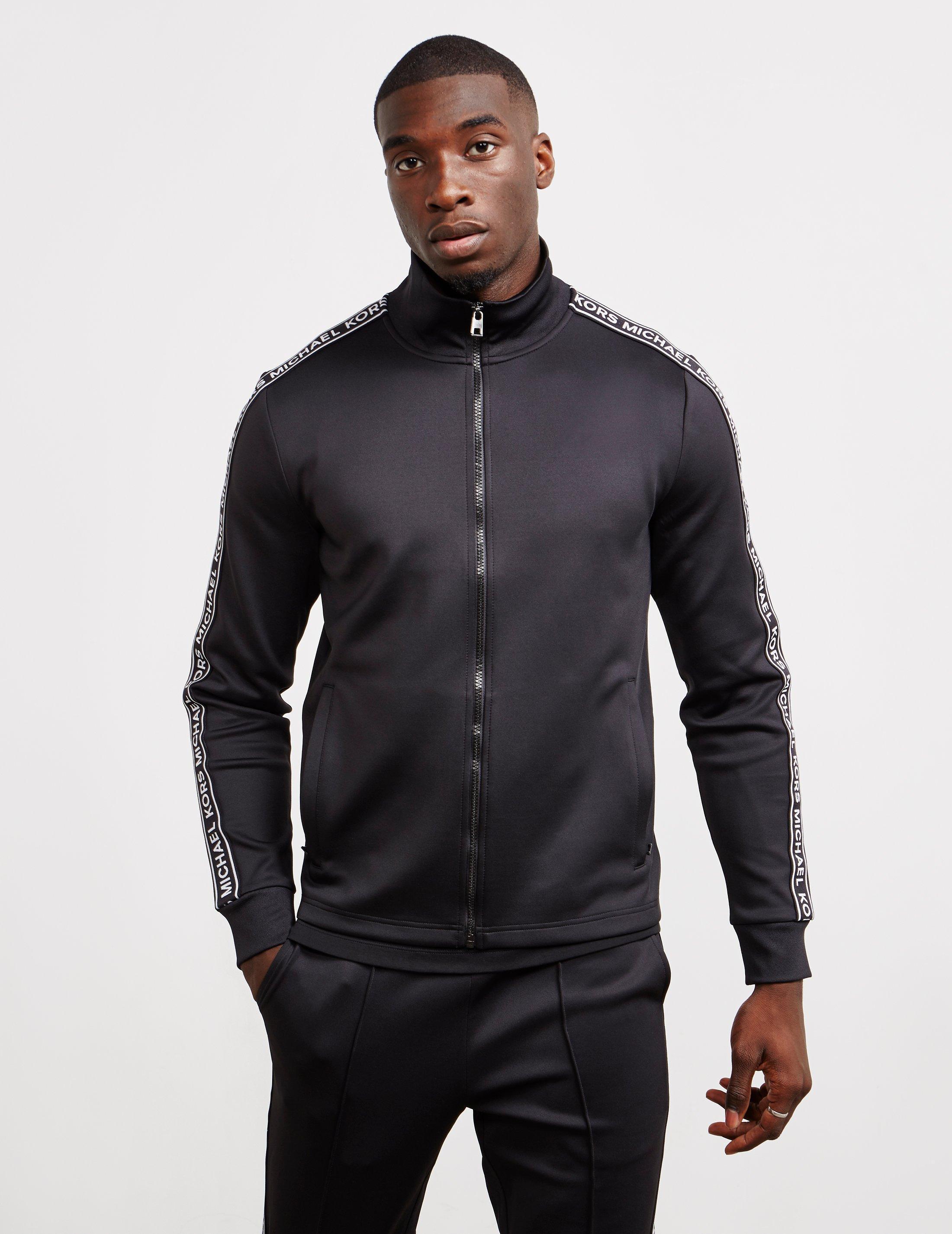 96b53d1f327f1 Lyst - Michael Kors Tape Track Top Black in Black for Men