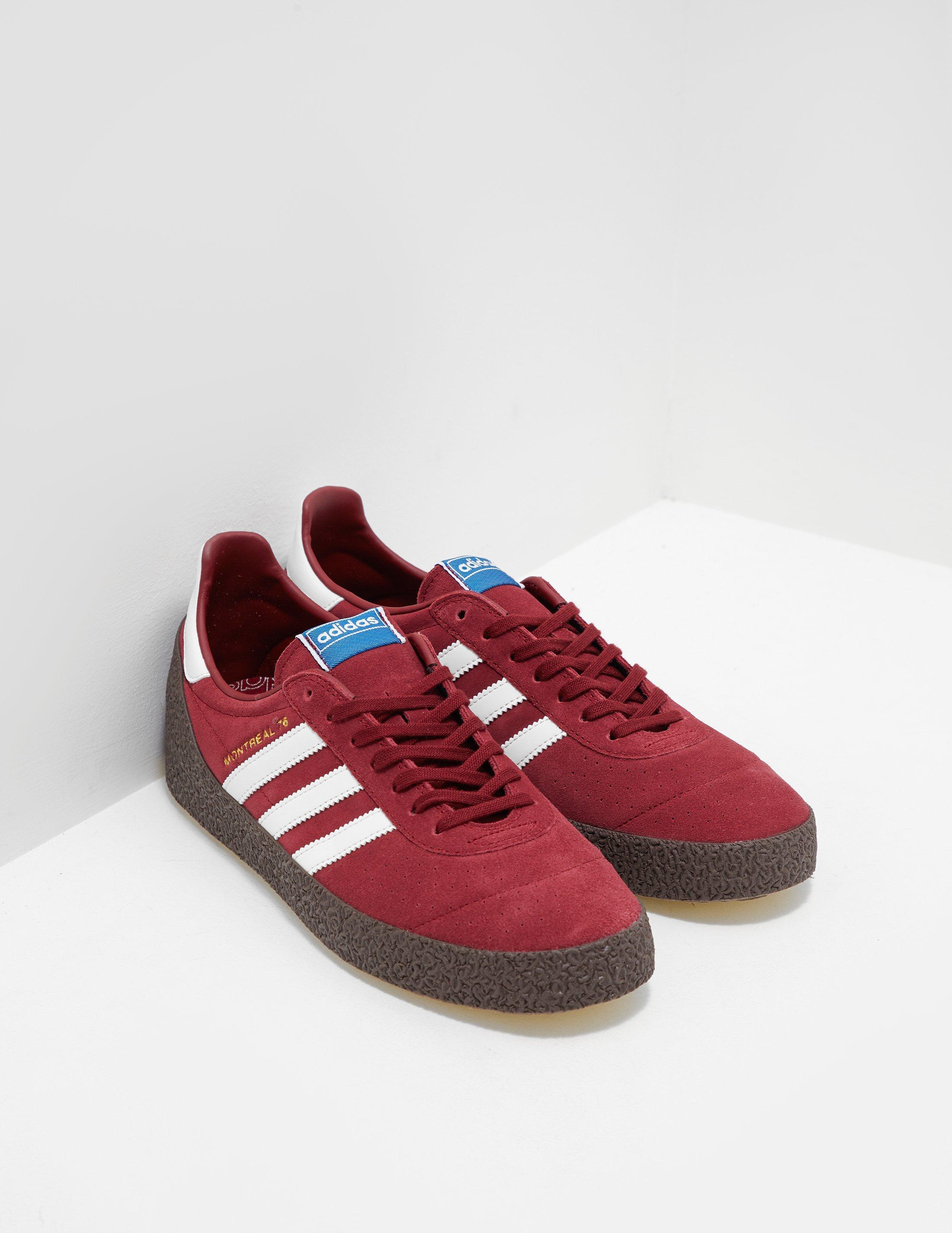 adidas Originals Mens Montreal 76 Red in Red for Men - Lyst 91c3245a5ee7