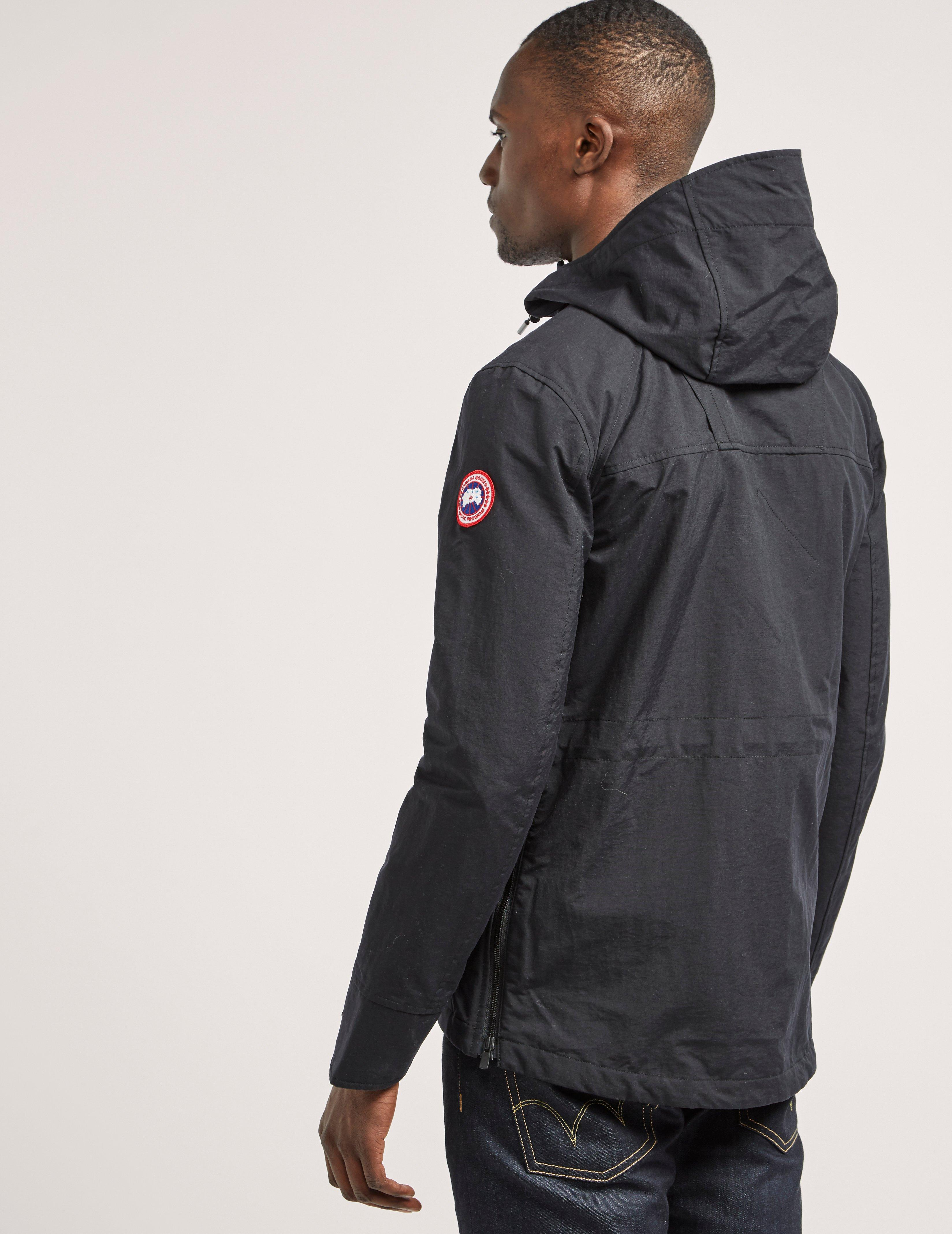canada goose redstone hooded shell jacket