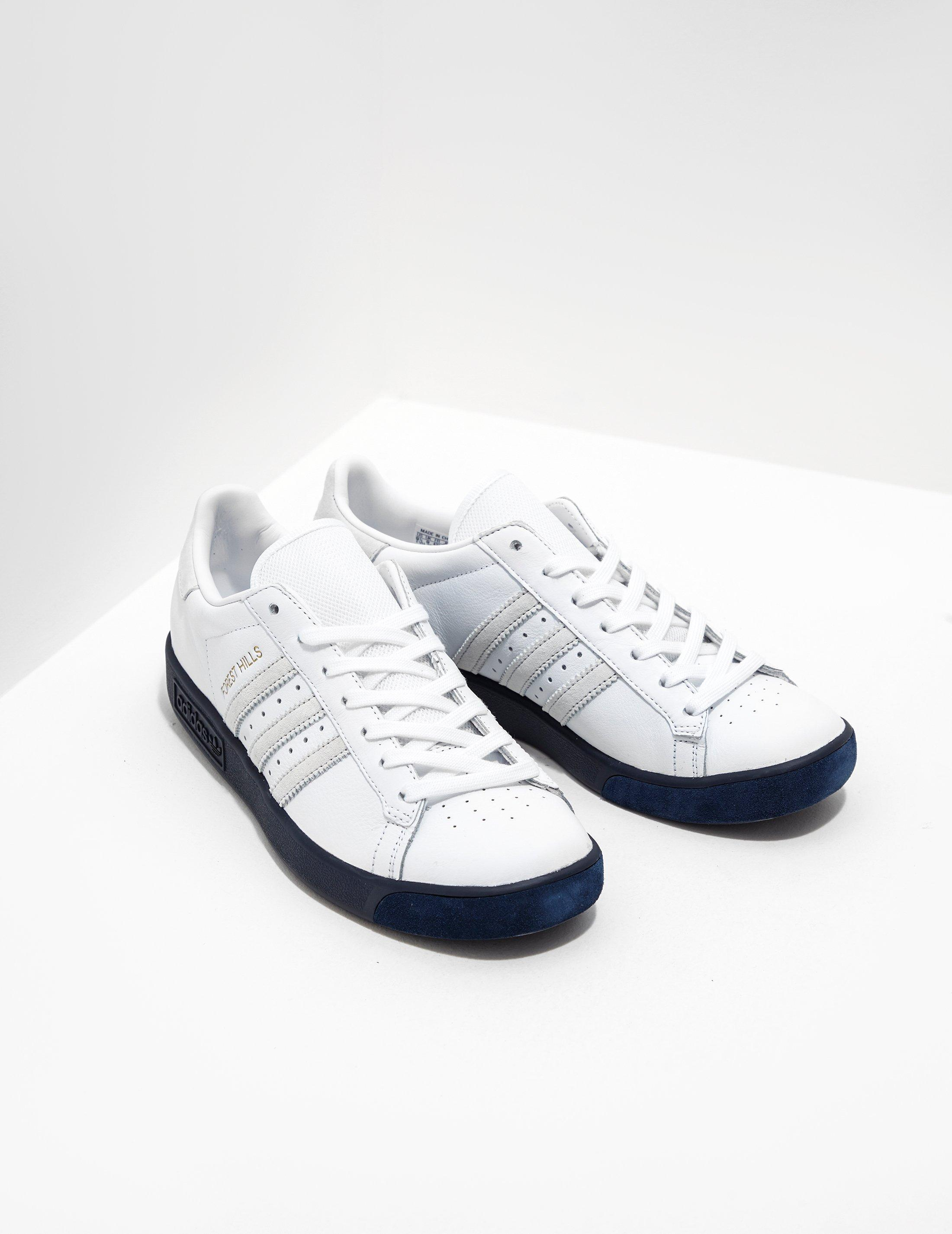 adidas Originals Leather Forest Hills Samstag White for Men