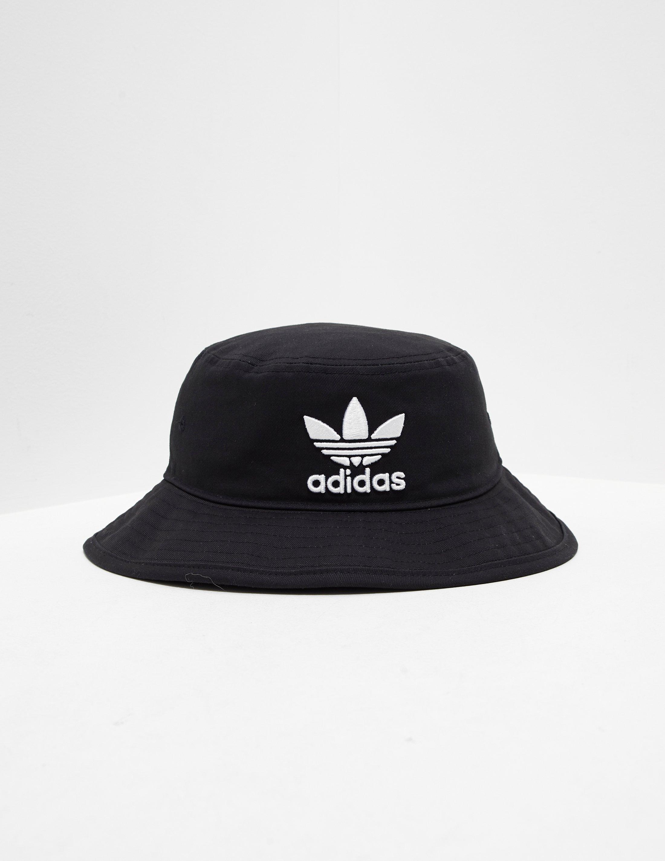 92273c24f2e adidas Originals Mens Trefoil Bucket Hat Black black in Black for ...