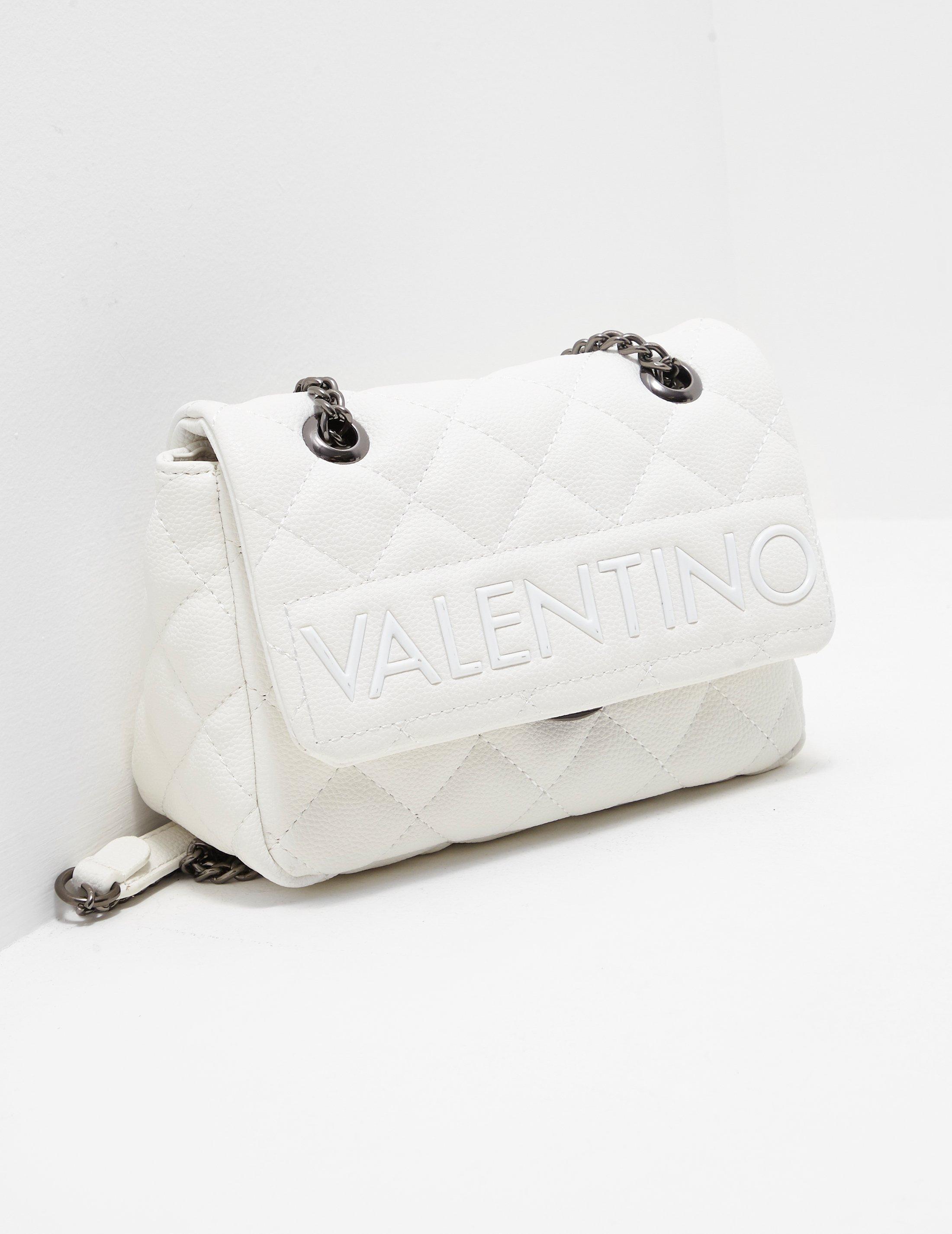 ac01da445f1 Valentino By Mario Valentino Licia Quilted Cross Body Bag White in ...