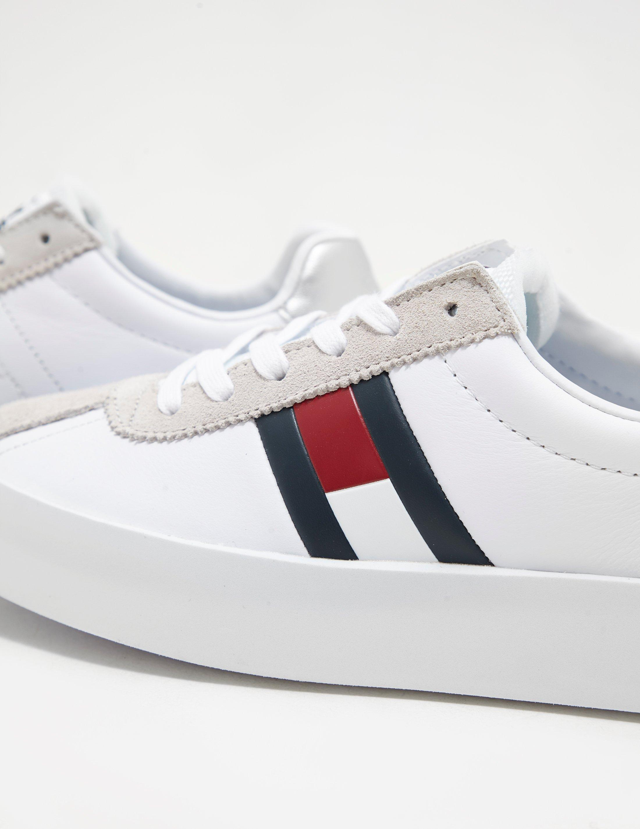 f593829cde20 Lyst tommy hilfiger womens retro light womens white in white jpg 2200x2850 Tommy  hilfiger womens sneakers