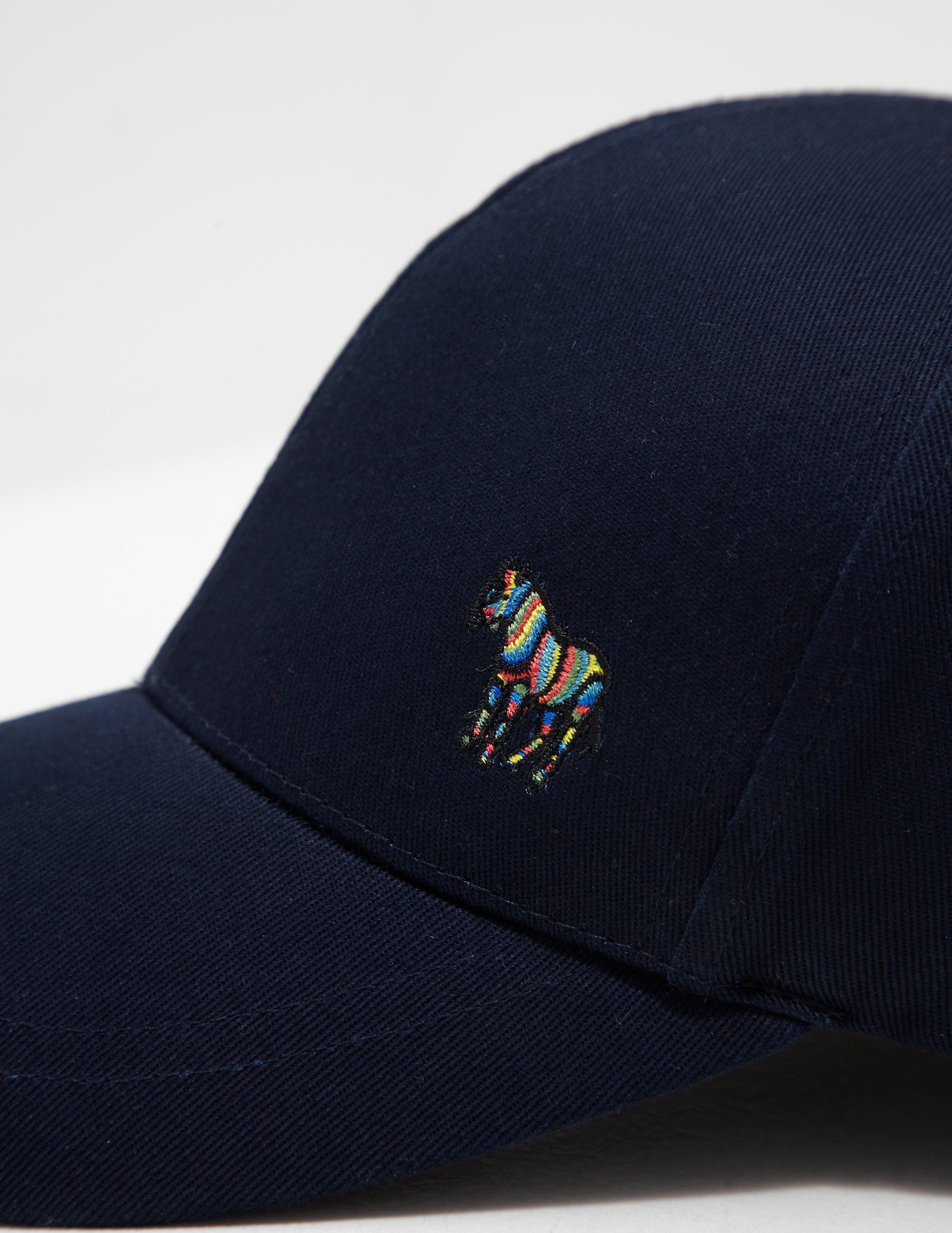 b2fa8ba4f7a593 PS by Paul Smith Mens Zebra Cap Navy Blue in Blue for Men - Lyst