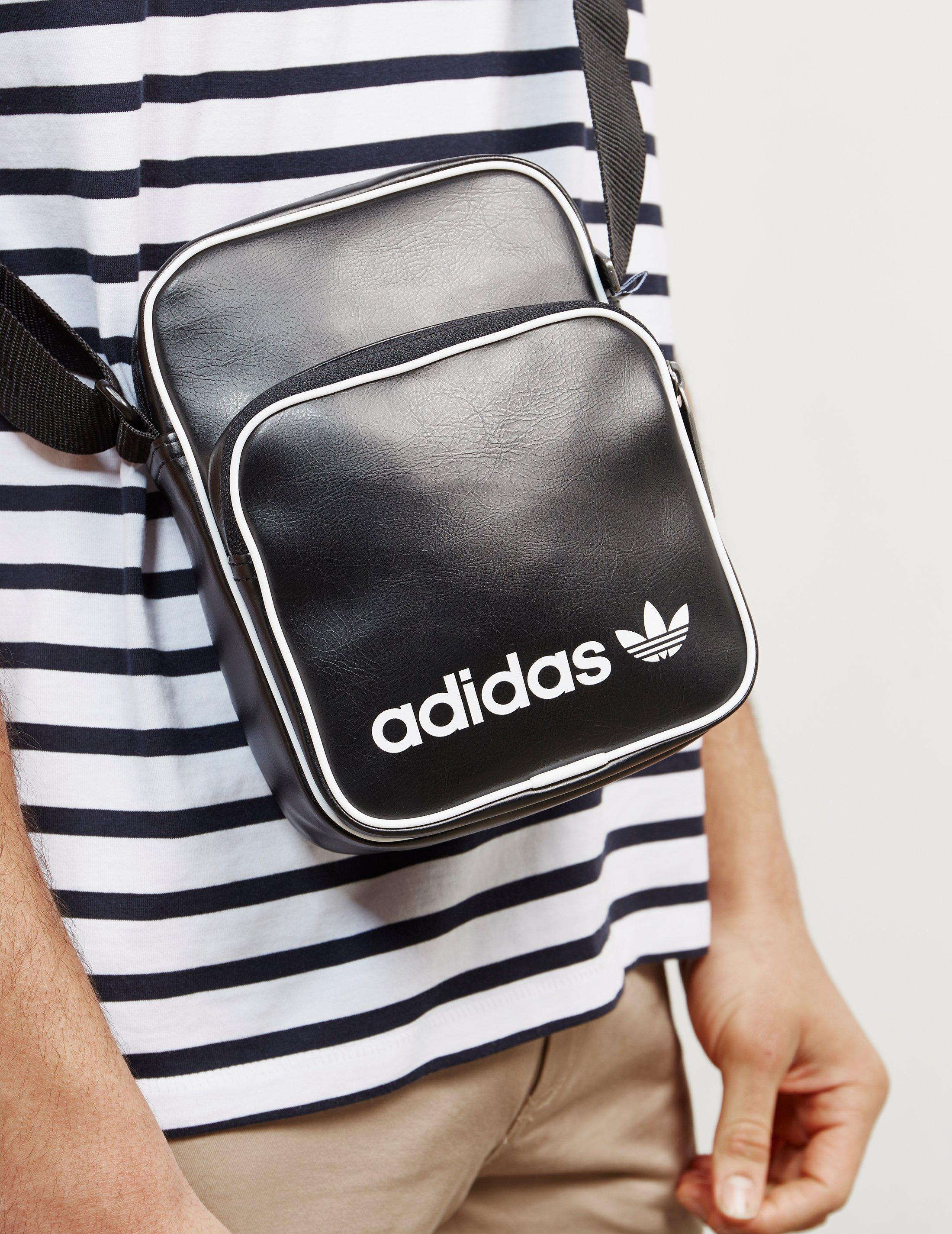 05a41a411e40 Lyst - adidas Originals Mens Mini Bag Vintage Black in Black for Men
