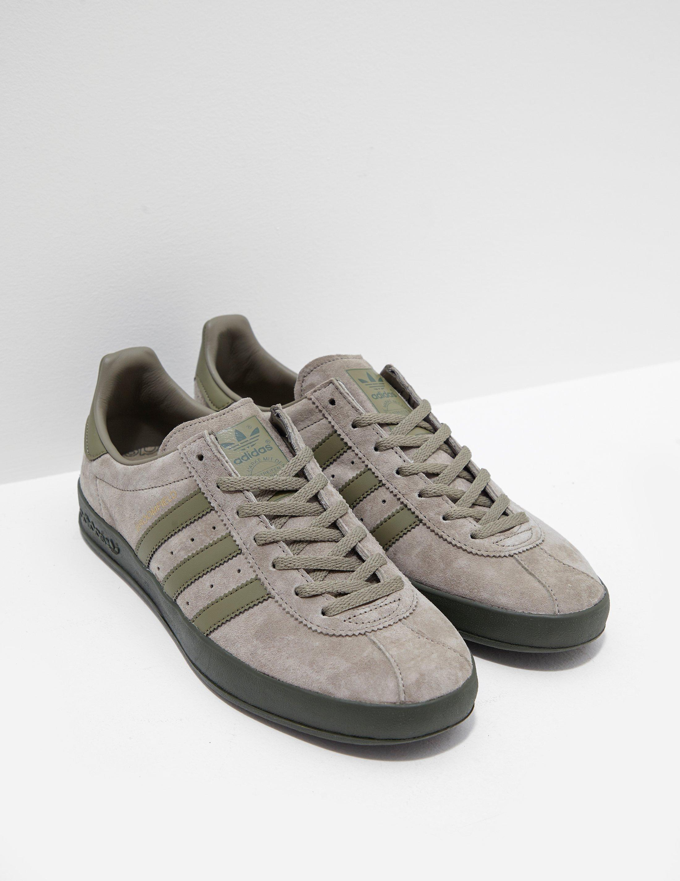 buy popular 249cf 40235 adidas Originals Broomfield Green in Green for Men - Lyst