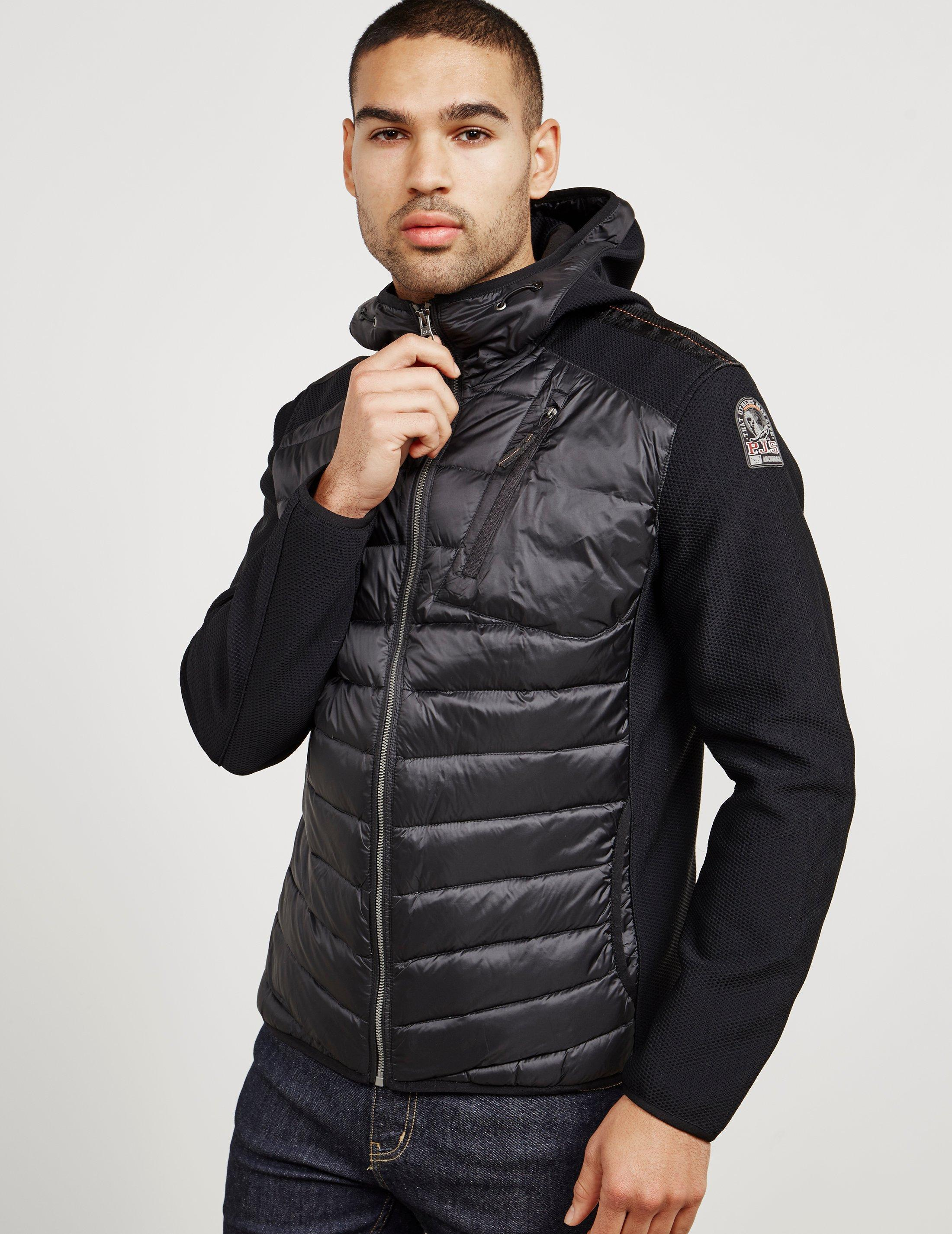 Parajumpers. Mens Nolan Lightweight Hooded Jacket Black