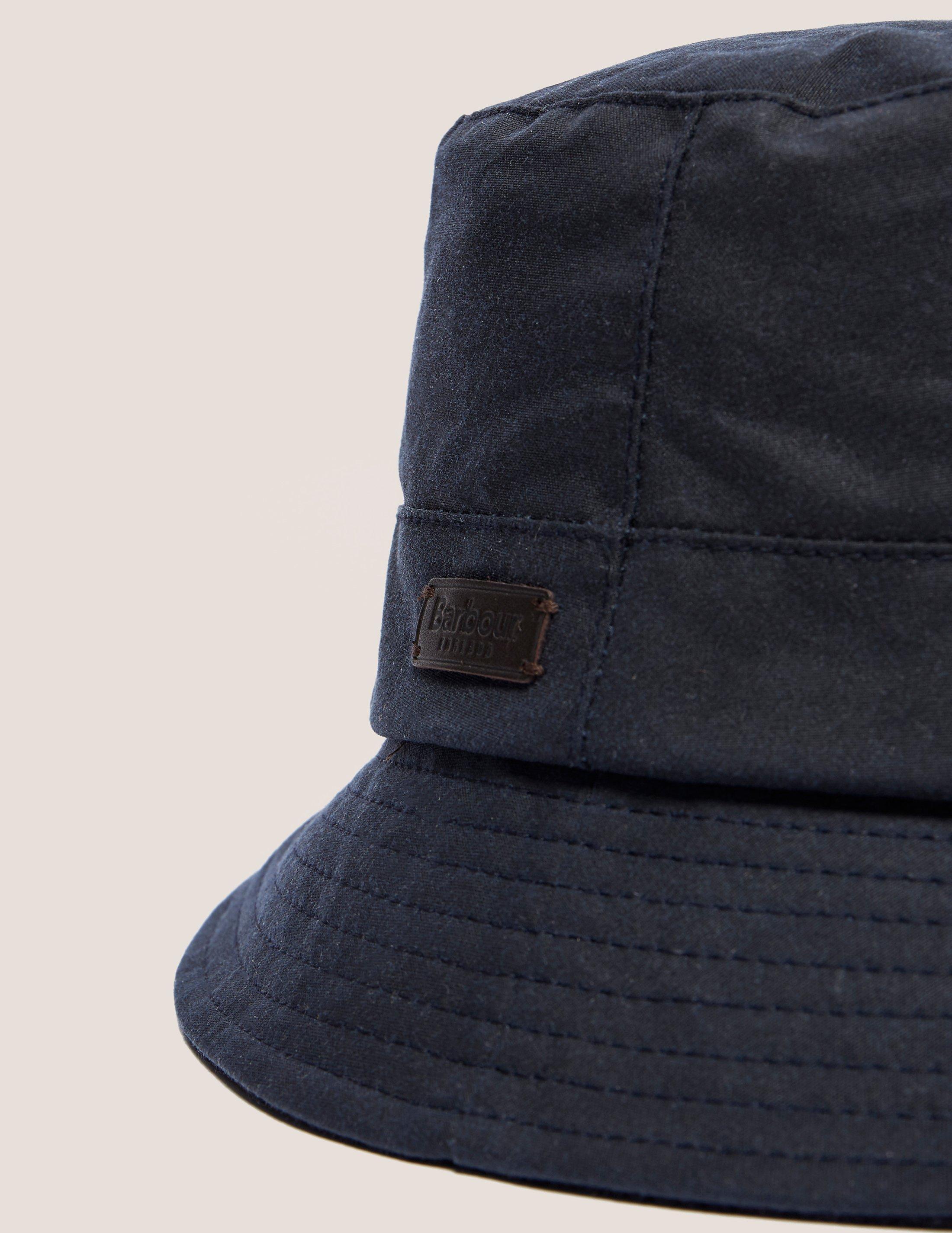 352dbd00 Barbour Mens Devon Bucket Hat Navy Blue in Blue for Men - Lyst