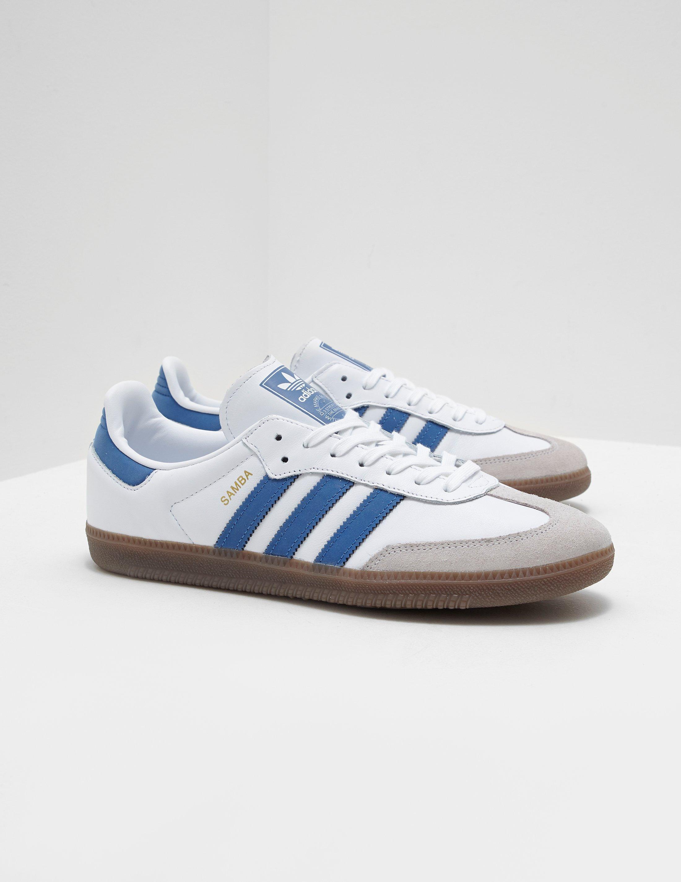 686f9957ca4 adidas Originals Mens Samba Og White in White for Men - Save ...