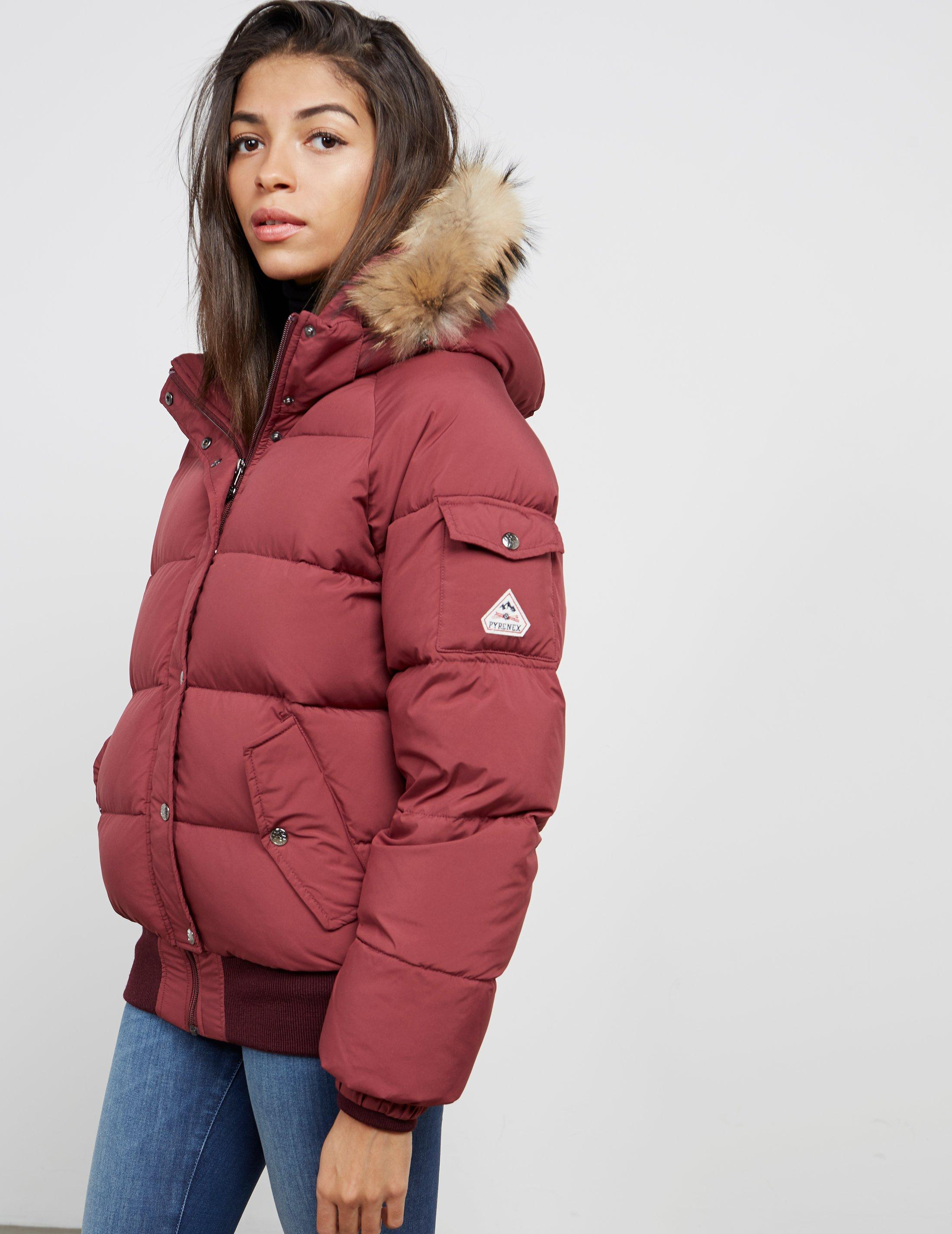 77348038720 Pyrenex Aviator Padded Jacket Red in Red - Save 38% - Lyst
