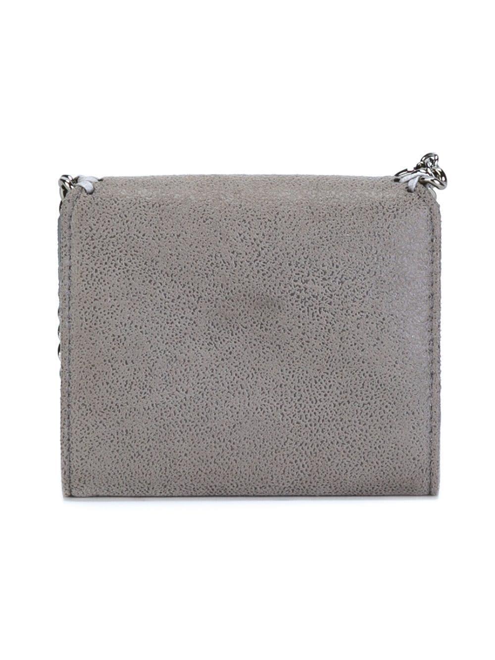 Stella McCartney - Gray Mini Portafoglio `falabella` - Lyst. View fullscreen 1ea2178775b