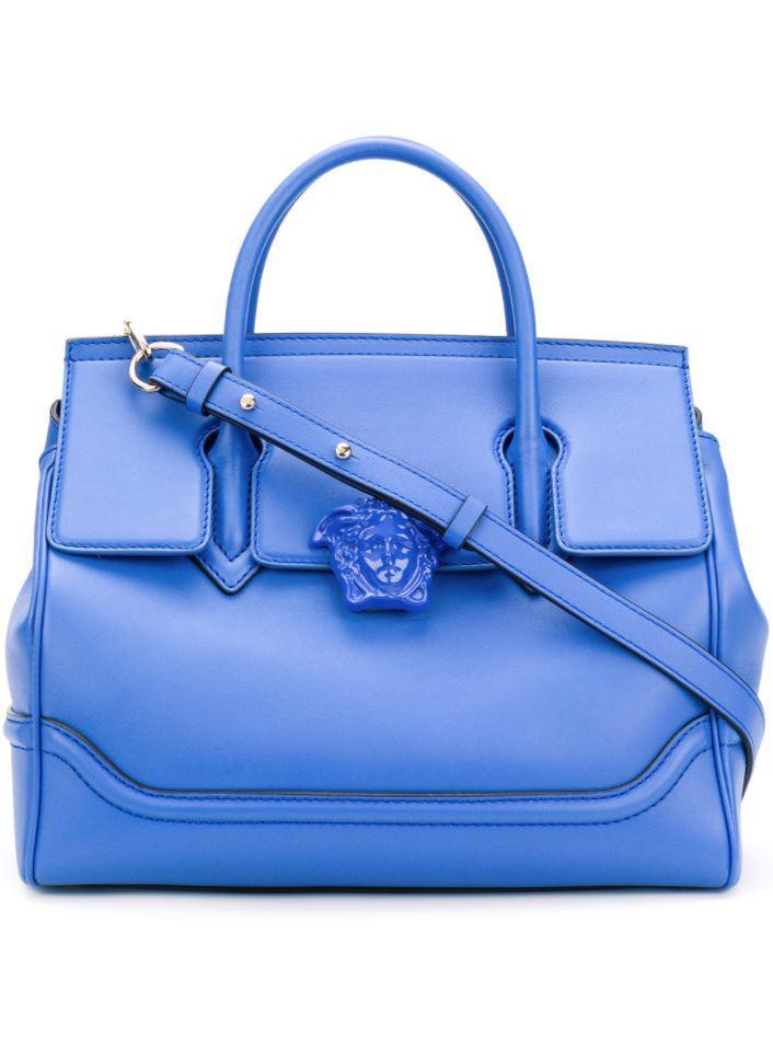 e3ce309b0f Lyst - Versace - Palazzo Empire Tote in Blue
