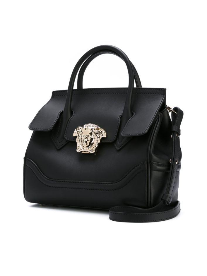 18749177f7ca Lyst - Versace - Palazzo Empire Shoulder Bag in Black