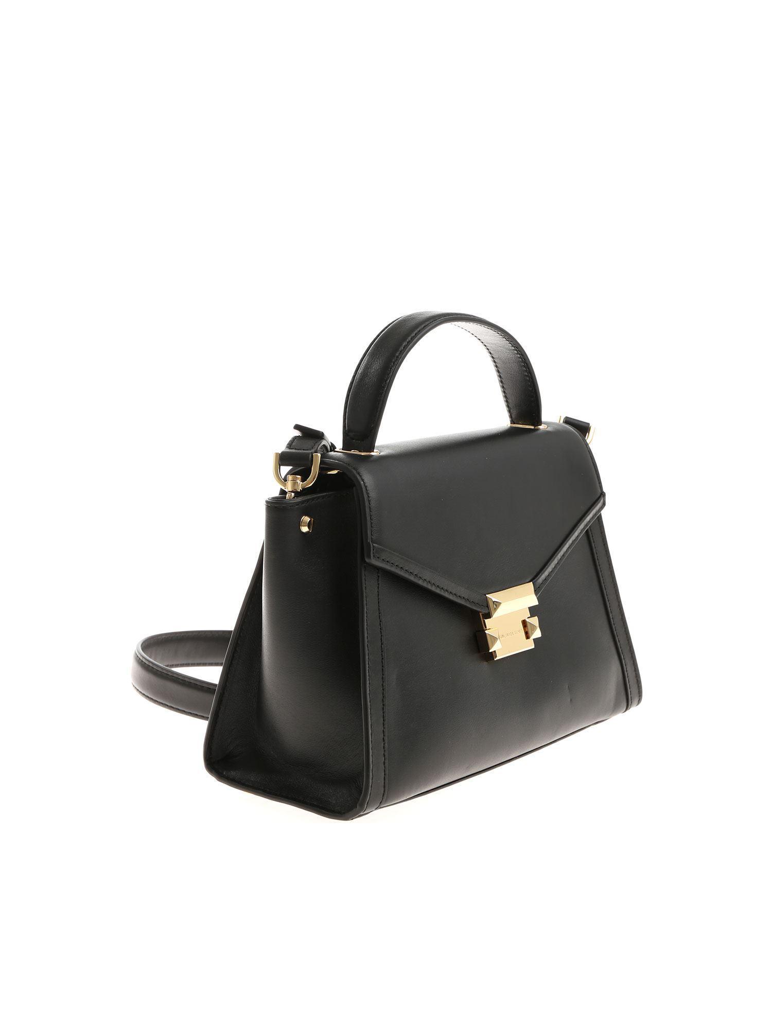 e14a1ff054a5 Michael Kors - Black Whitney Medium Handbag - Lyst. View fullscreen