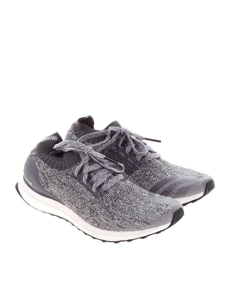 1e7dbb8af9ba3 Adidas Gray Running Ultraboost Uncaged Sneakers in Gray for Men - Lyst