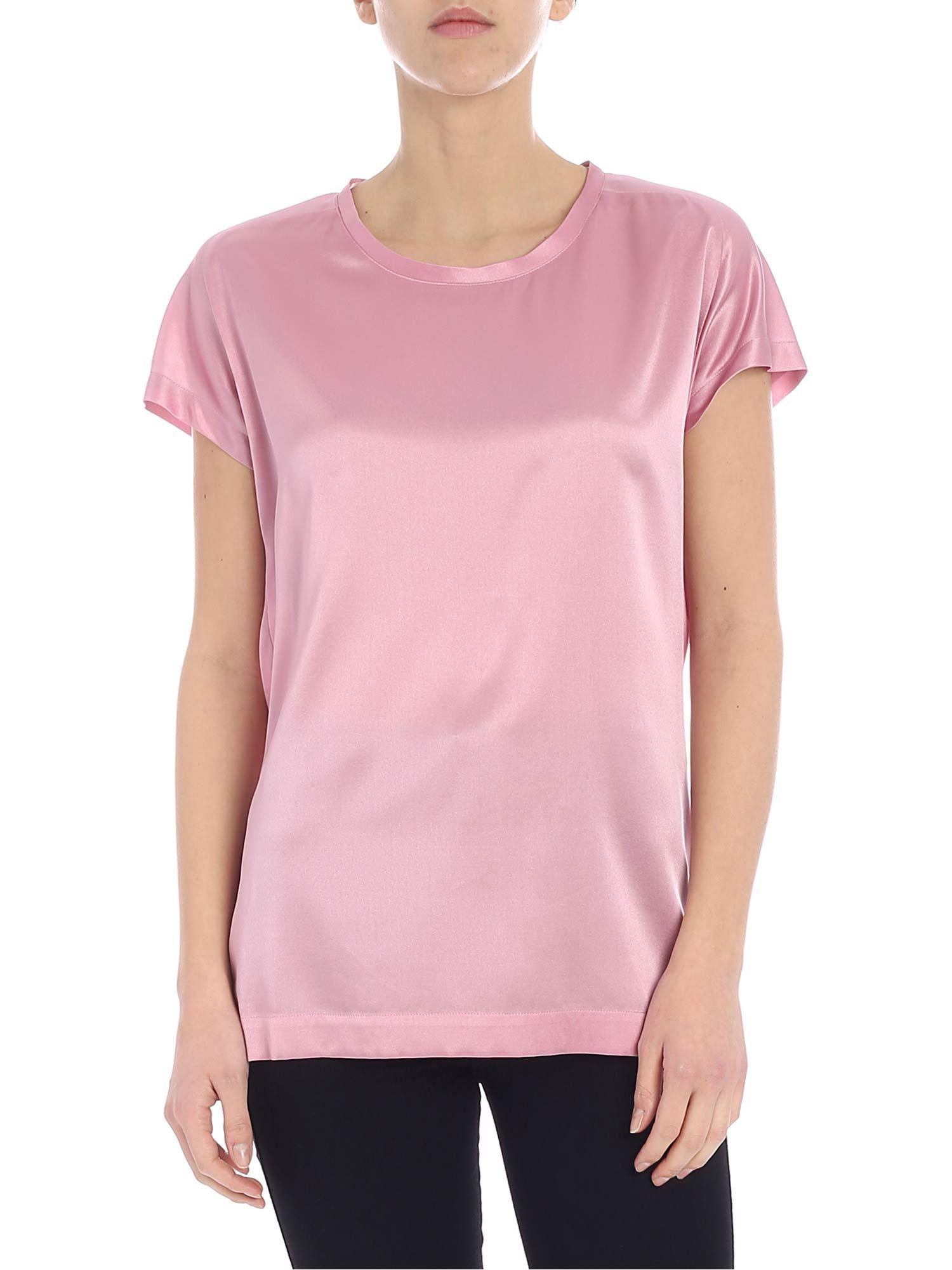 4f2c457d0a1 Lyst - Pinko Farisa 11 Short-sleeved Pink Blouse in Pink