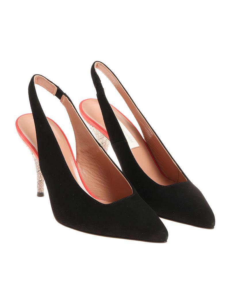 Black Suede Slingback Shoes L'autre Chose HtkY3hdmRk
