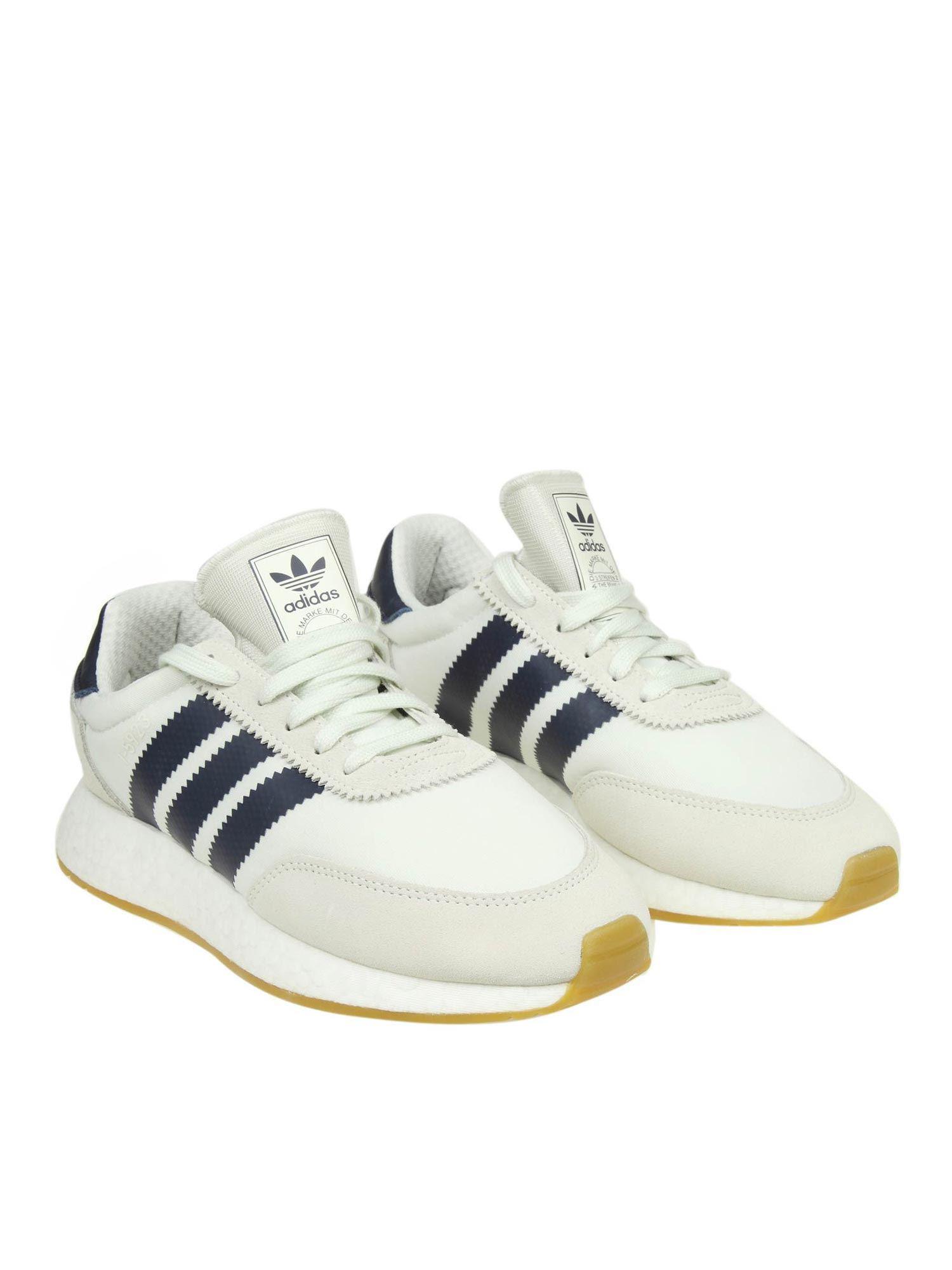 c22631605b8b44 Adidas Originals - White And Blue I-5923 Sneakers for Men - Lyst. View  fullscreen