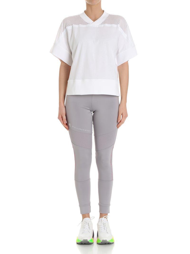 6c4c1252842 adidas By Stella McCartney. Women's White Training White Mesh T-shirt