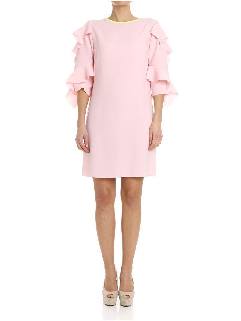 Pinko Ferrare Dress in Pink - Lyst 36cfb517f4cf