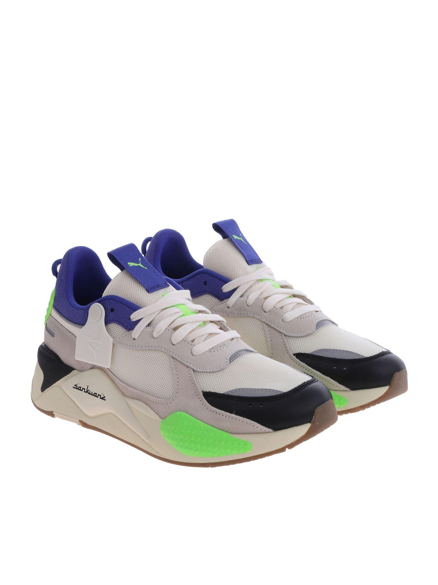 a2c24ecbb9f Lyst - PUMA Rs-x Sankuanz Cream-colored Sneakers in Blue for Men - Save 18%
