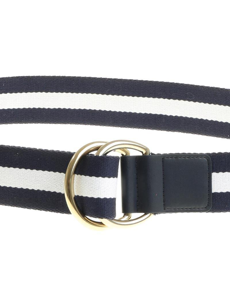 Blue and white fabric belt Ki6? Who are you? Uvy6Yrsq