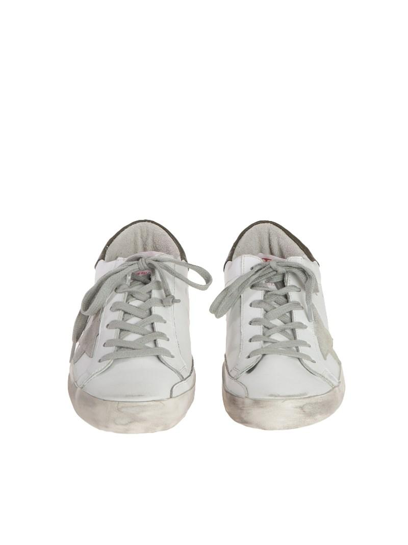 ce2b9eb86bd5 Golden Goose Deluxe Brand Superstar Sneakers in Gray - Lyst