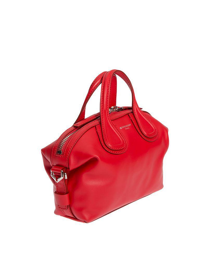 37abbb297dd1 Givenchy - Red Nightingale Bag - Lyst. View fullscreen