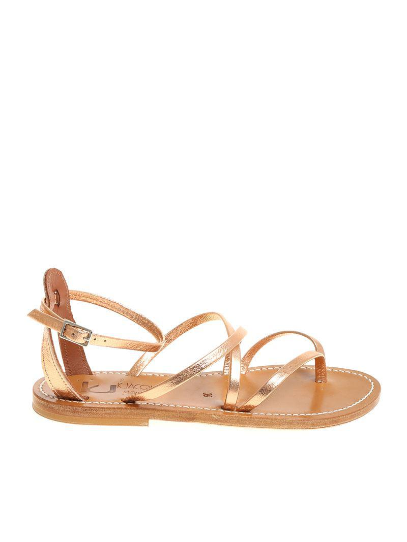 Clearance Footaction Clearance Store Cheap Online Laminated pink Epicture thong sandals K.Jacques Lowest Price For Sale Discount Fake pF3XgIl
