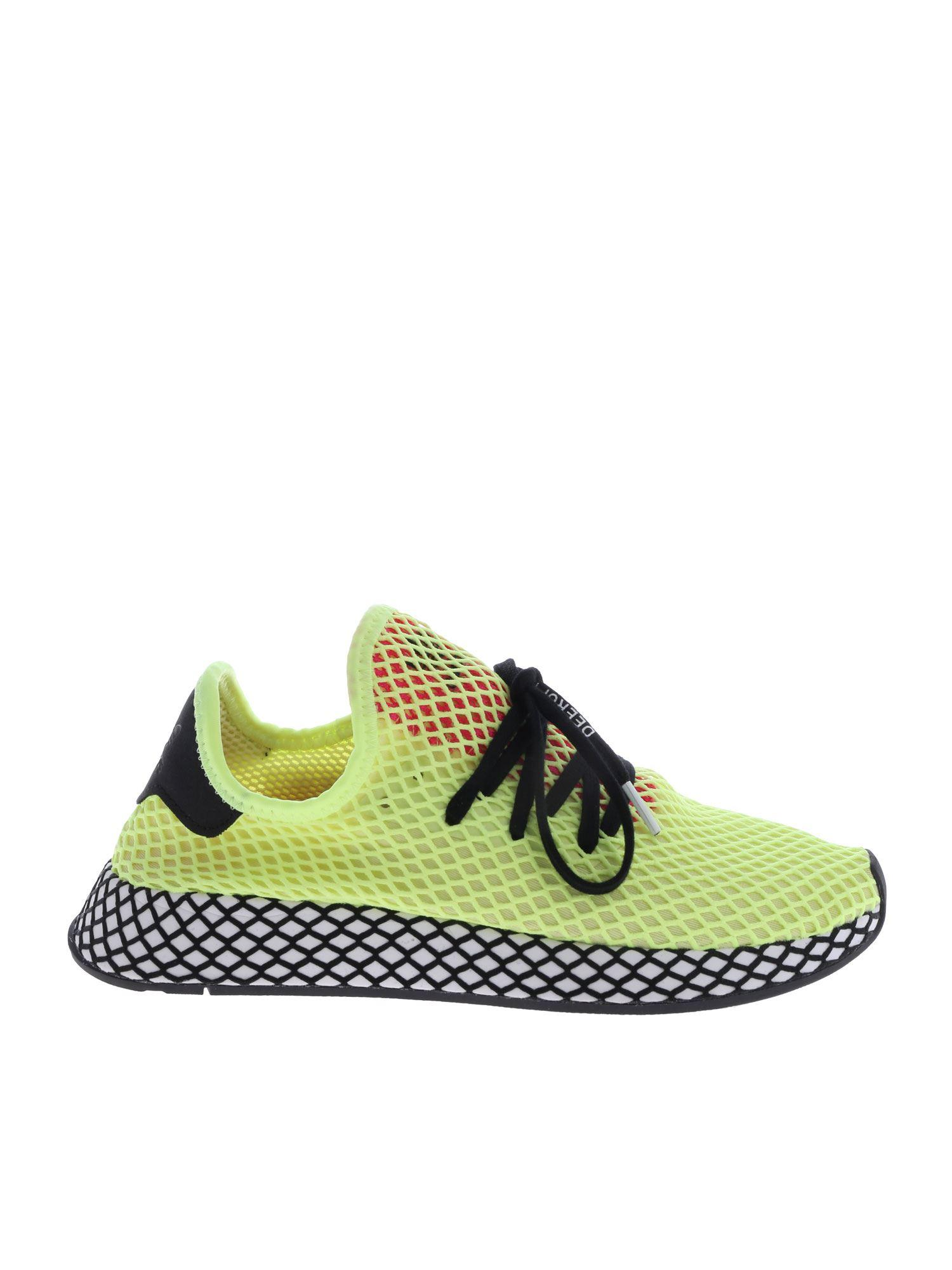 405dc77f5 Lyst - adidas Originals Deerupt Runner Sneakers In Yellow in Yellow ...