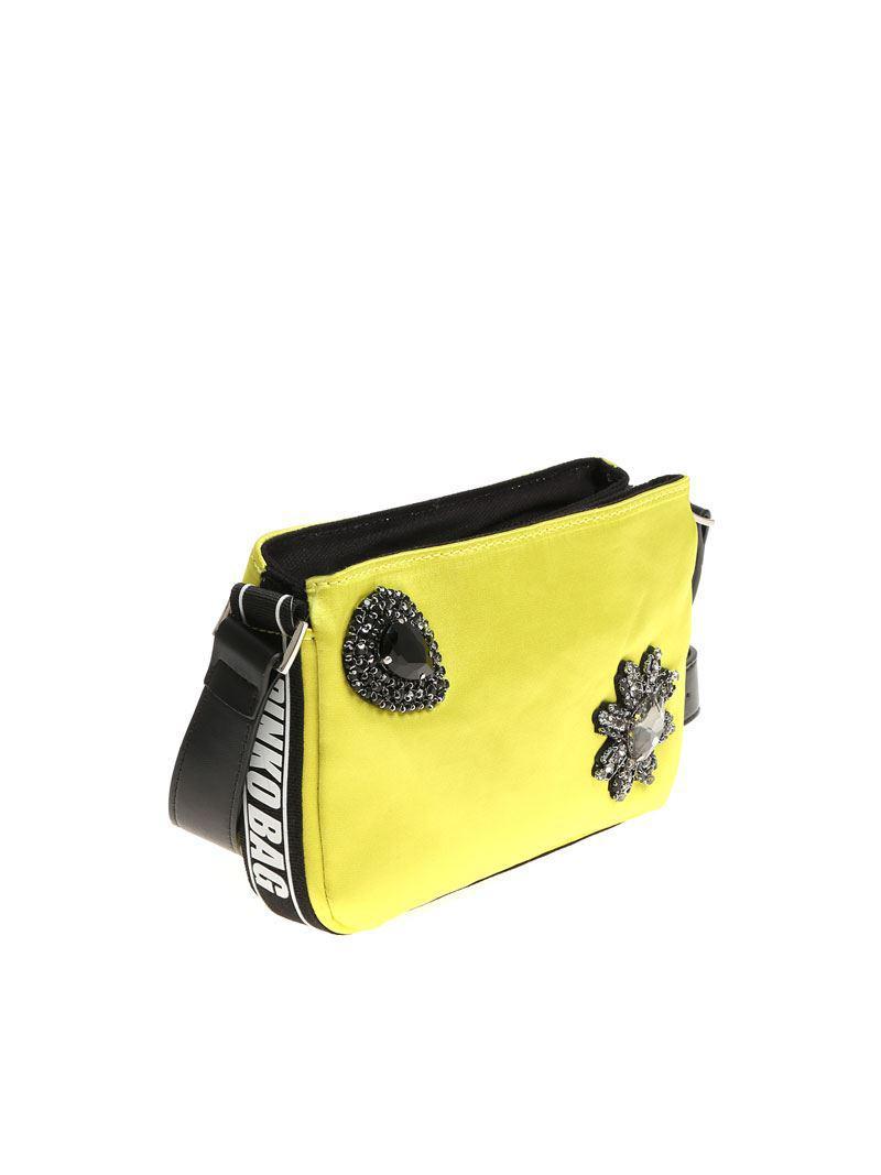 Pinko Lime Canello shoulder bag WZBpsy