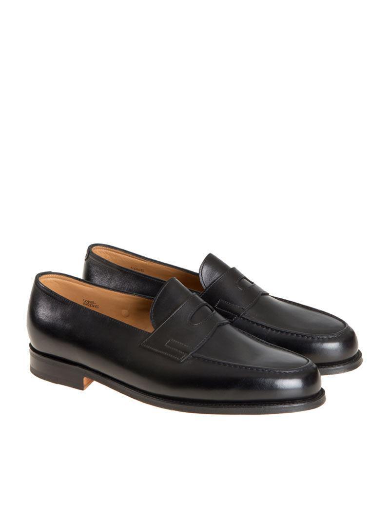 516c8a2dec4 Lyst - John Lobb Lopez Loafers in Black for Men
