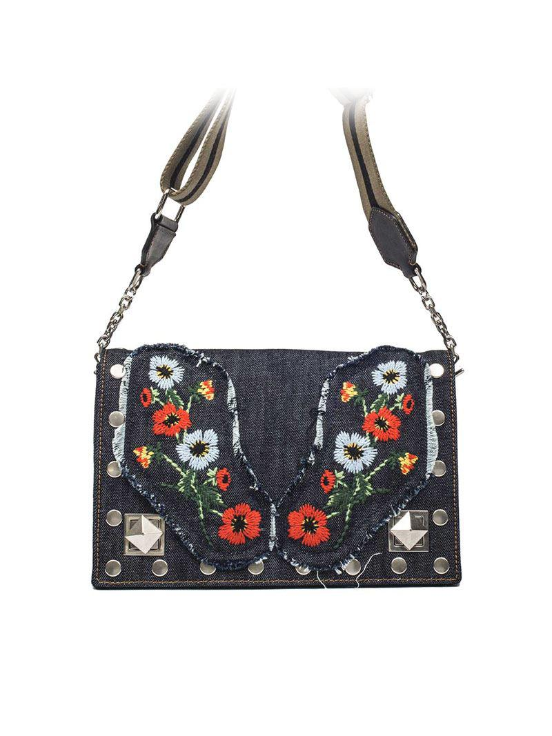 Niki shoulder bag with studs Sonia Rykiel ycSjV