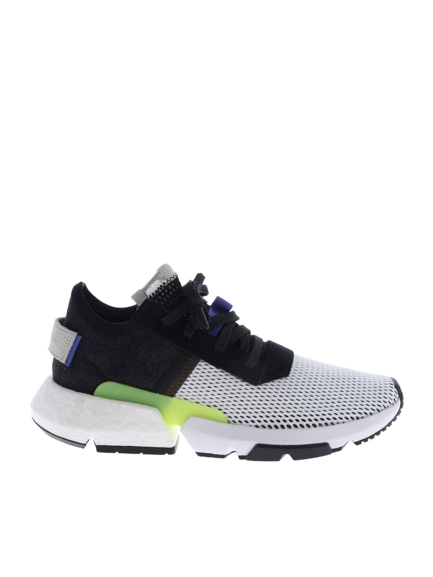 newest 00860 1e5b2 adidas Originals. Men s Pod-s3.1 Sneakers In White And Black