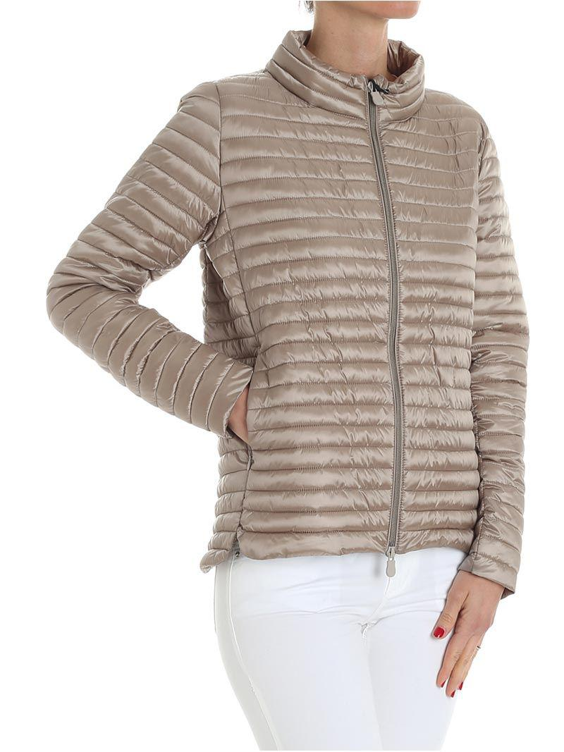 Taupe-colored padded jacket Save The Duck Best Prices Online Outlet Enjoy Order Cheap Online 5oMpUOet