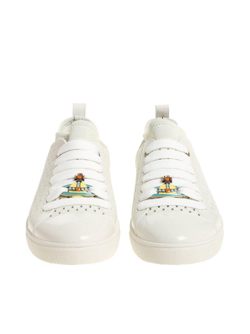 Chaussures En Caoutchouc Vivienne Couleur Glace Westwood w9Fo78GcvH