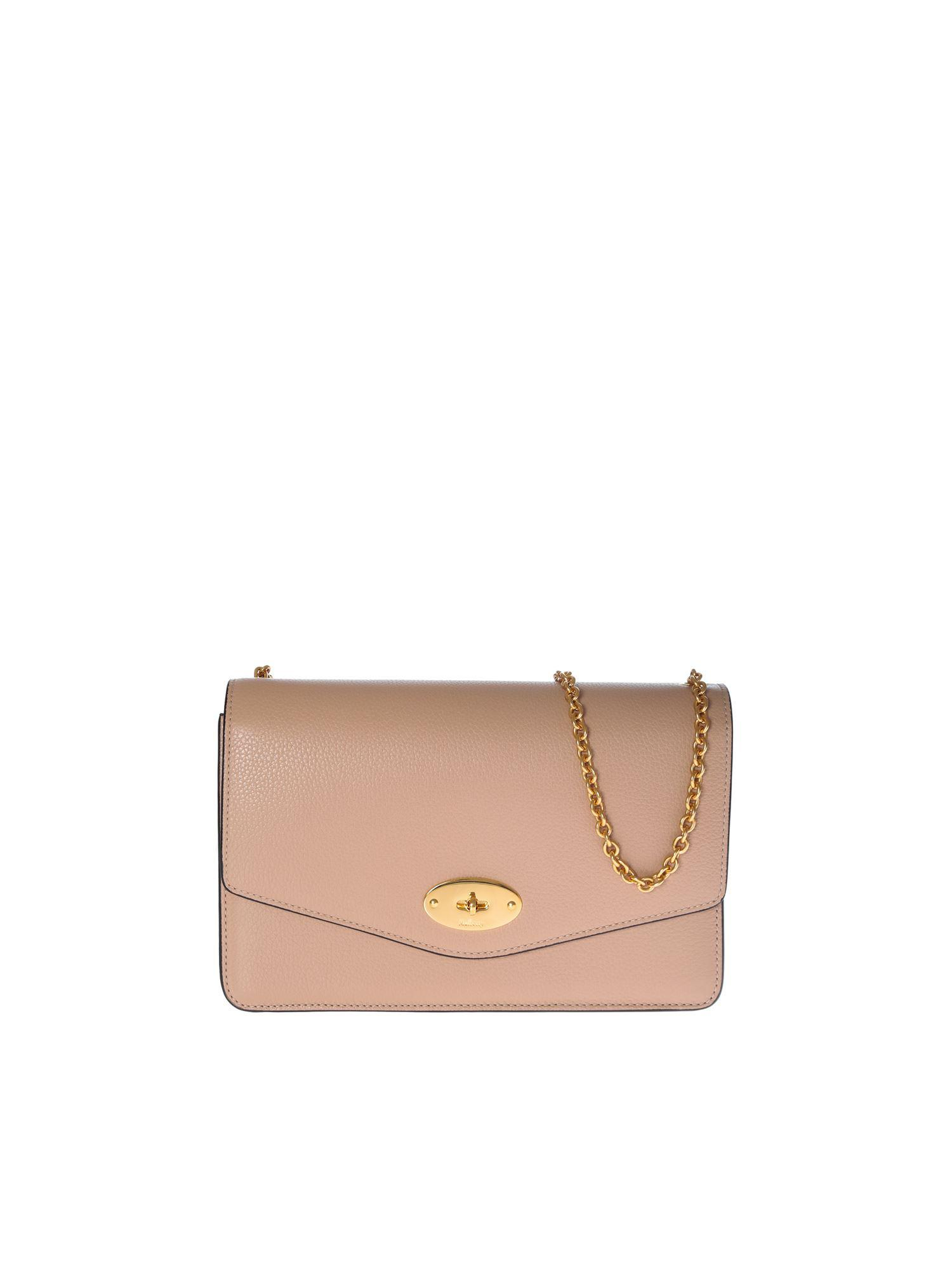 2a7b70aa0d Lyst - Mulberry Darley Bag In Pink Grained Leather in Pink