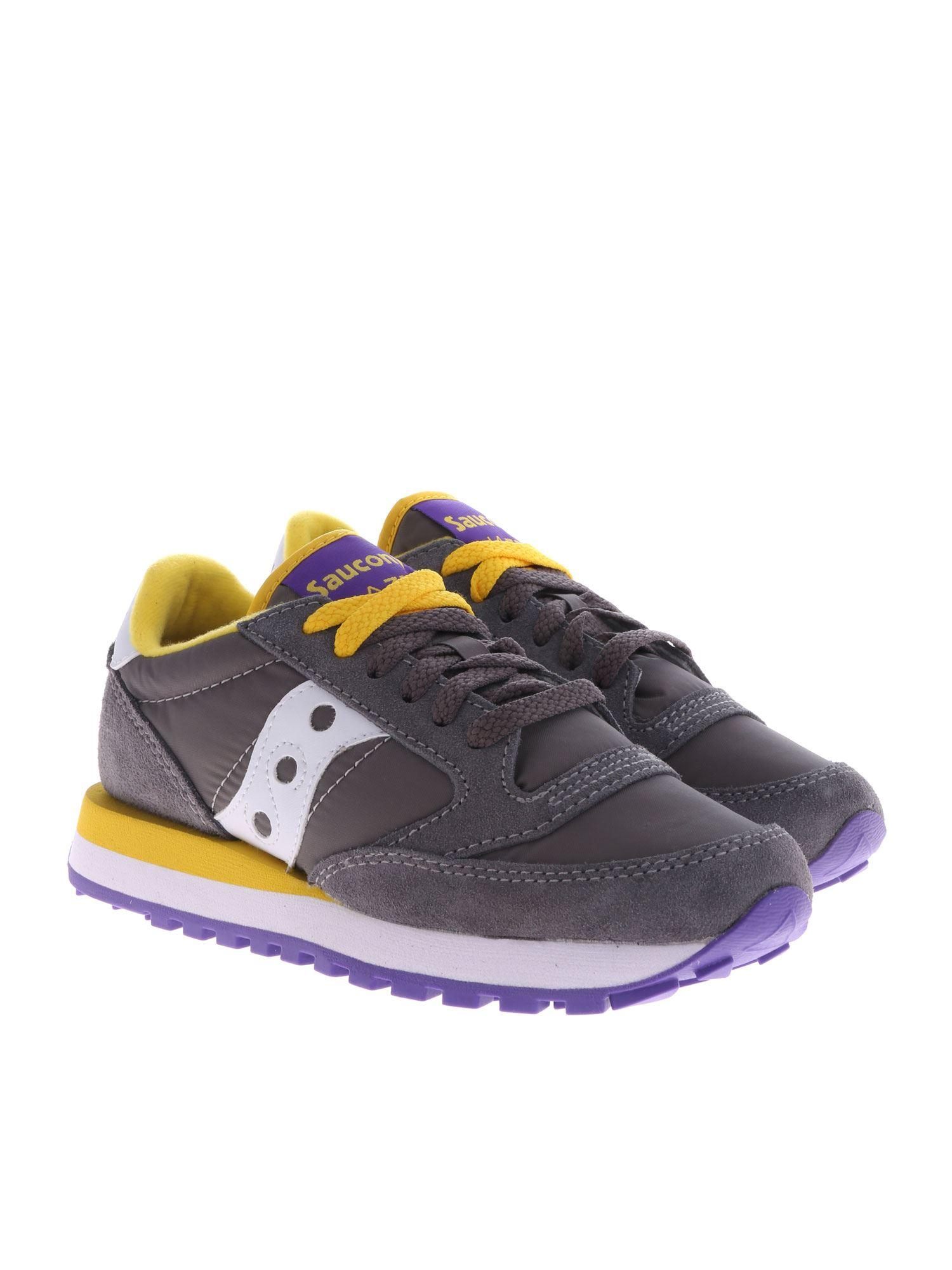 296d74a3a30d Lyst - Saucony Jazz Sneaker In Grey