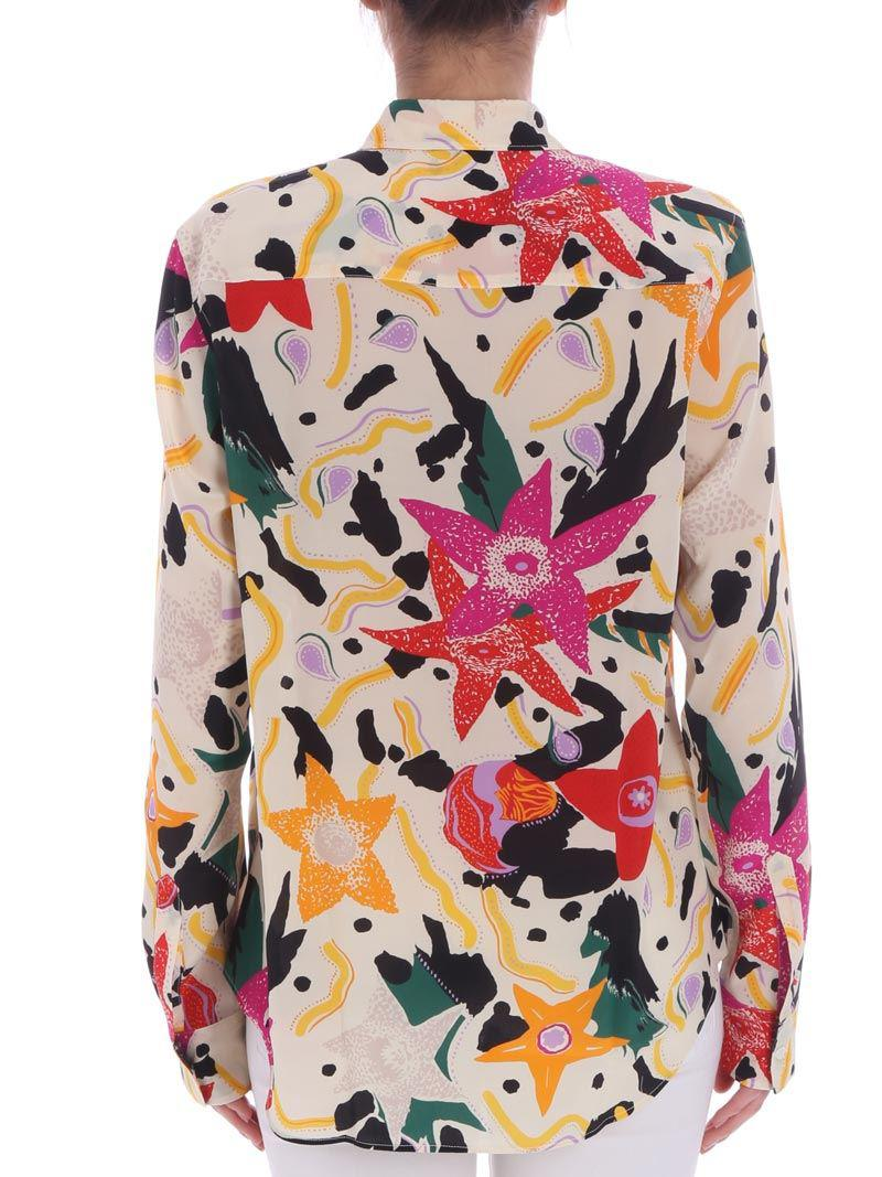 Clearance Cheap Online Discount Latest Floral pattern shirt Aspesi Looking For For Sale Visa Payment Online rWDnuaPQ