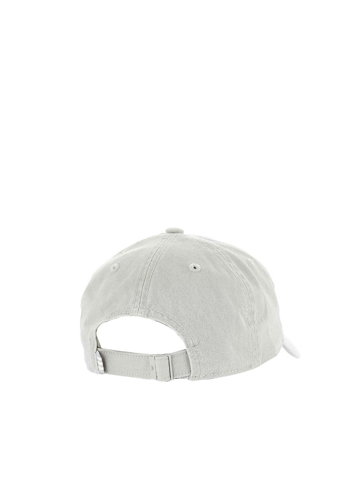 outlet store b9600 ba053 adidas Originals Adicolor Washed Cap In Grey in Gray - Lyst