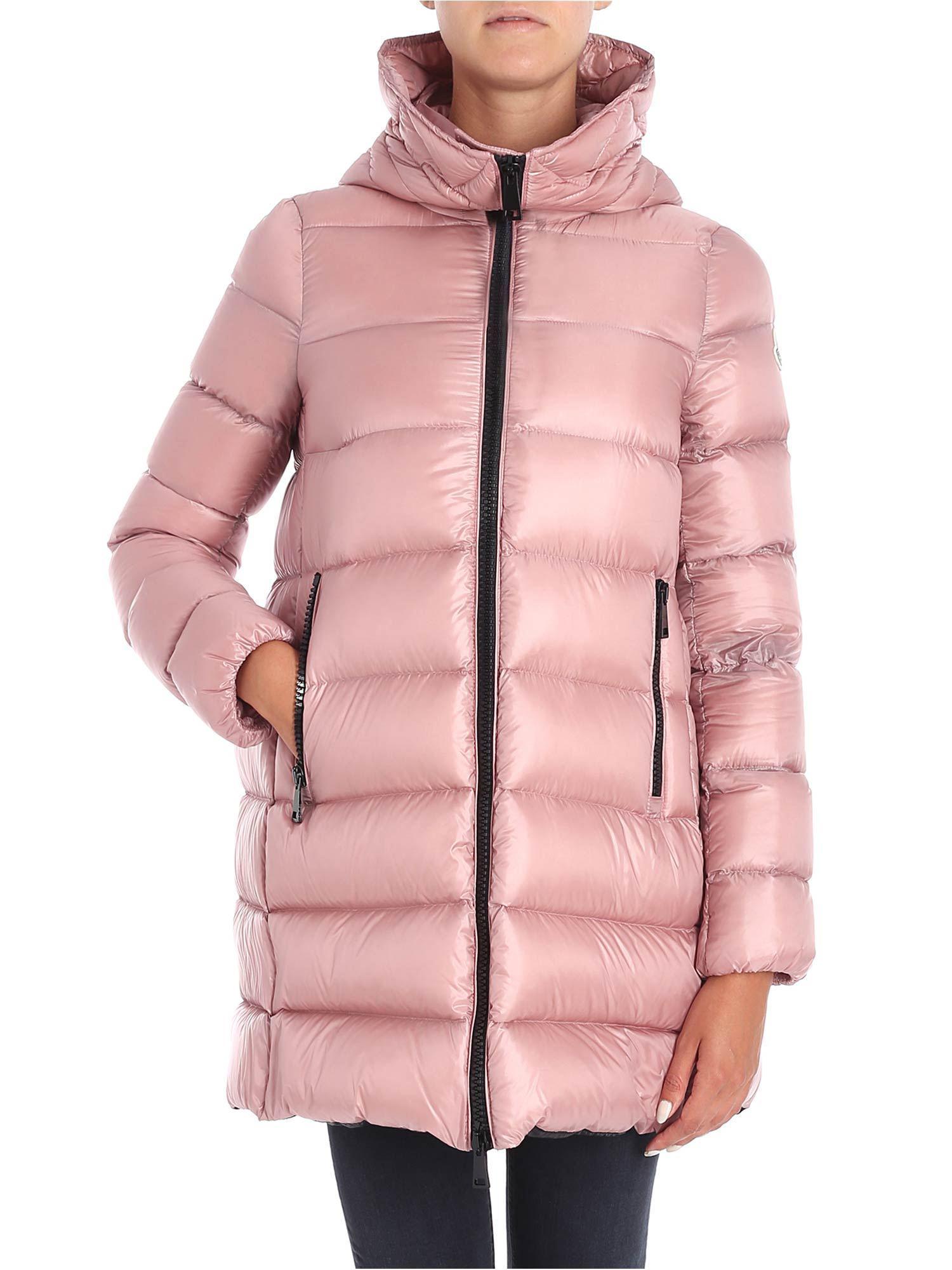 e1bd085a9 Lyst - Moncler Pink Suyen Down Jacket in Pink