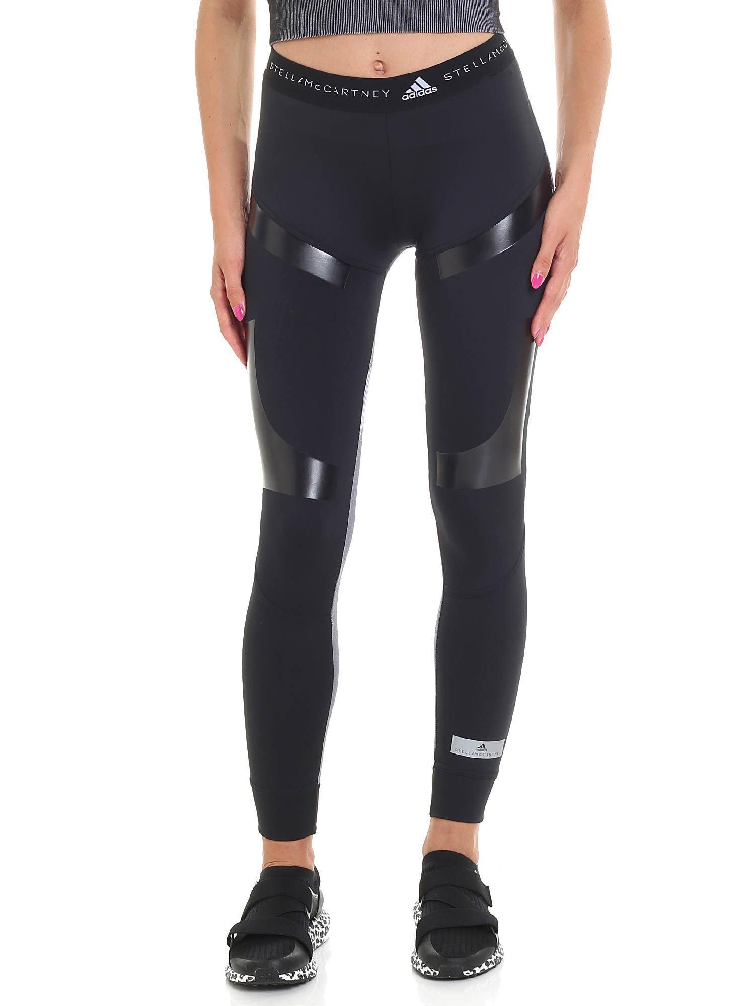 Mccartney White Run Black Leggings Tight And By Stella Ultra Adidas nTxFaqXU