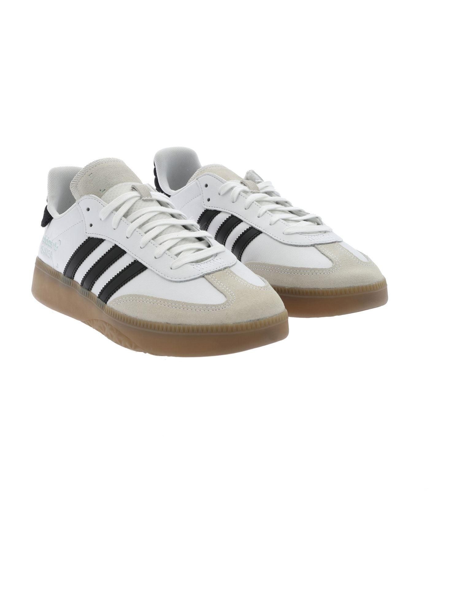 Lyst - adidas Originals Samba Rm Sneakers In White in White for Men