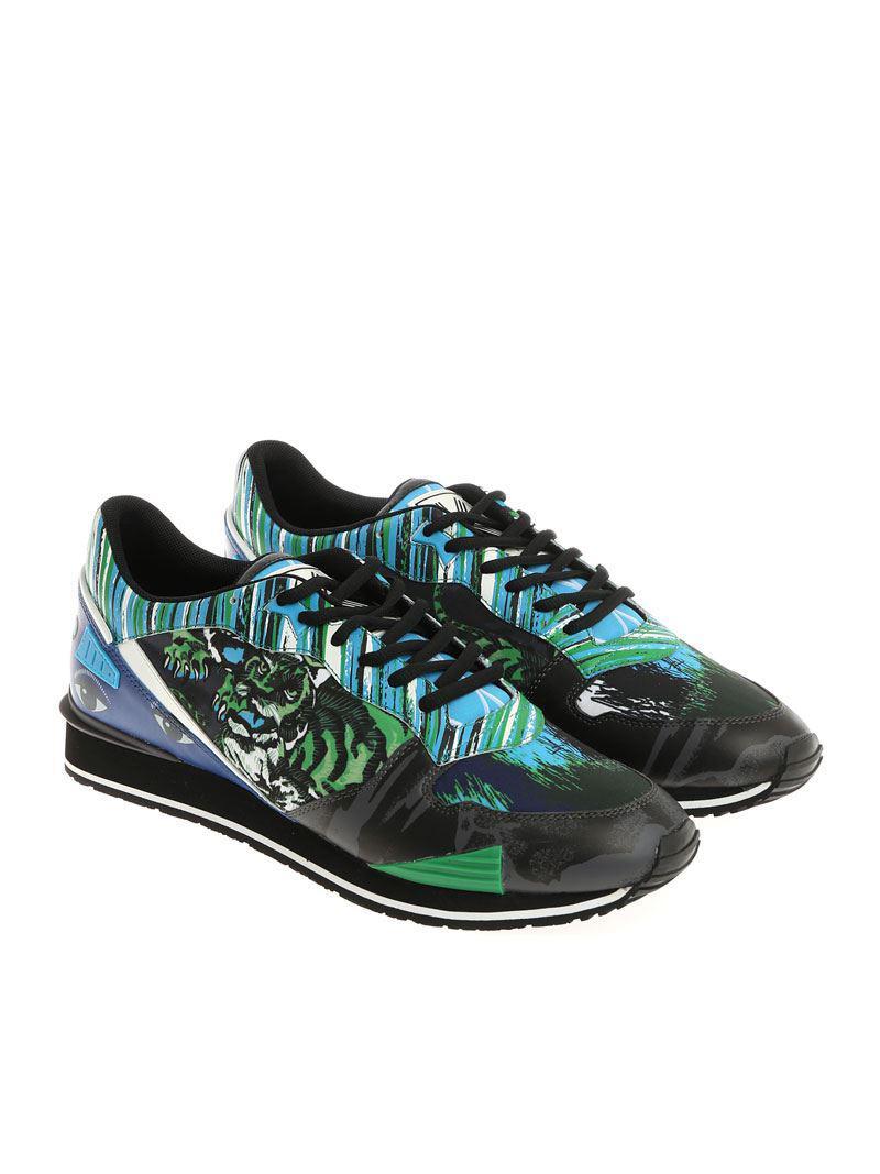 Vert Kenzo Et Chaussures De Sport De Tigre Bleu VgSbQVcRBo