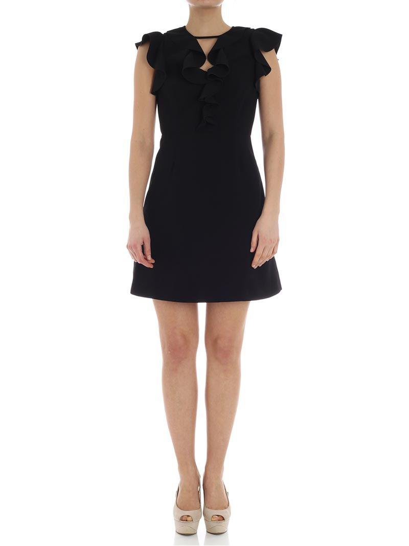 Black Ibridare dress Pinko Clearance Best Seller Free Shipping Prices 4Xu5NTBAlL