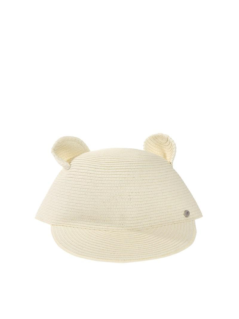 8f9d8b8ba0f Lyst - Karl Lagerfeld Cat Ears Straw Hat in Natural